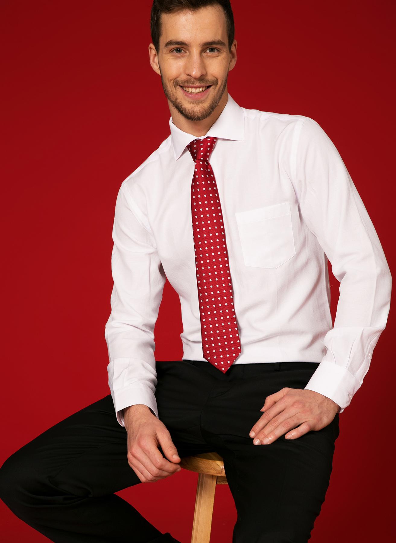 George Hogg Comfort Fit Beyaz Gömlek 43 5000219323001 Ürün Resmi