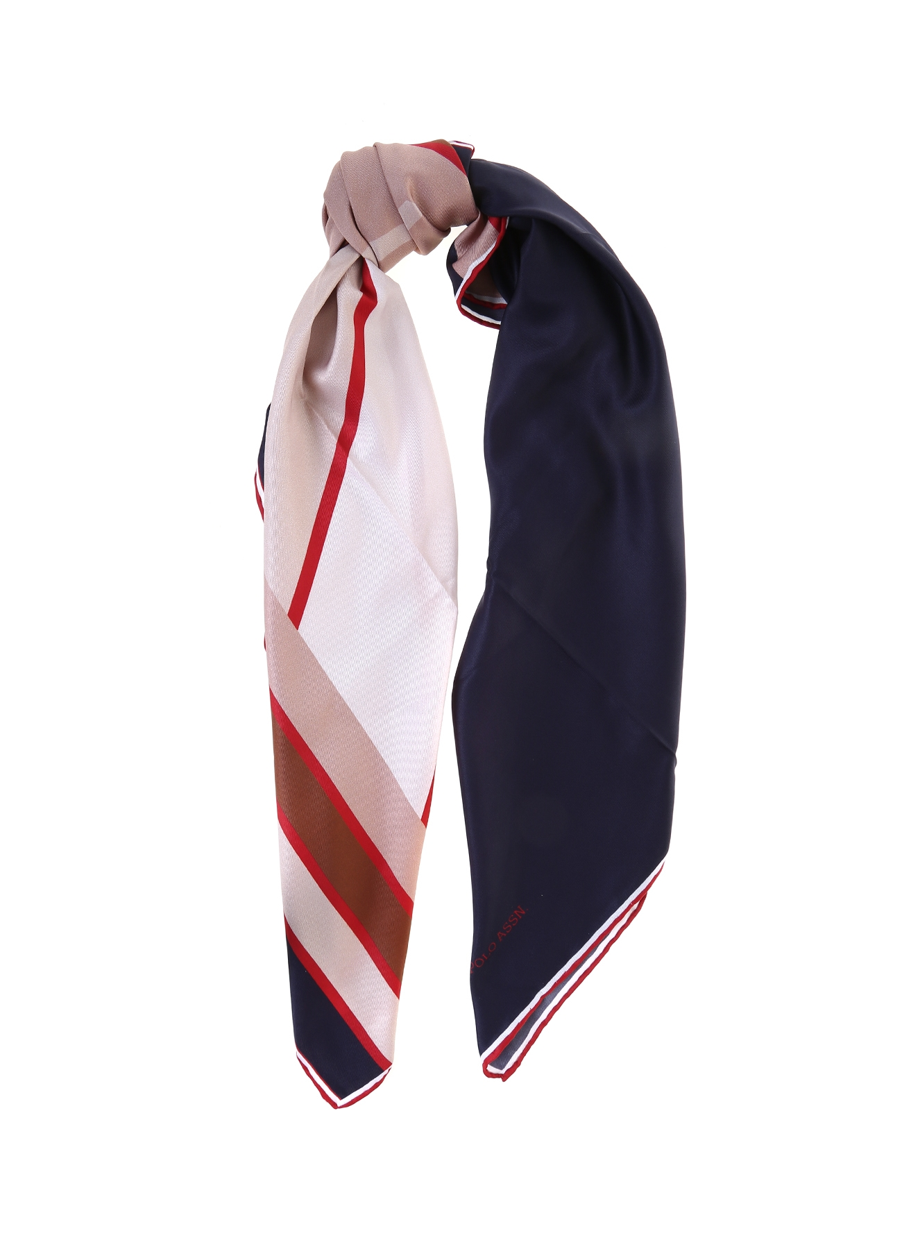 U.S. Polo Assn. Geometrik Desenli Eşarp 5000221221001 Ürün Resmi