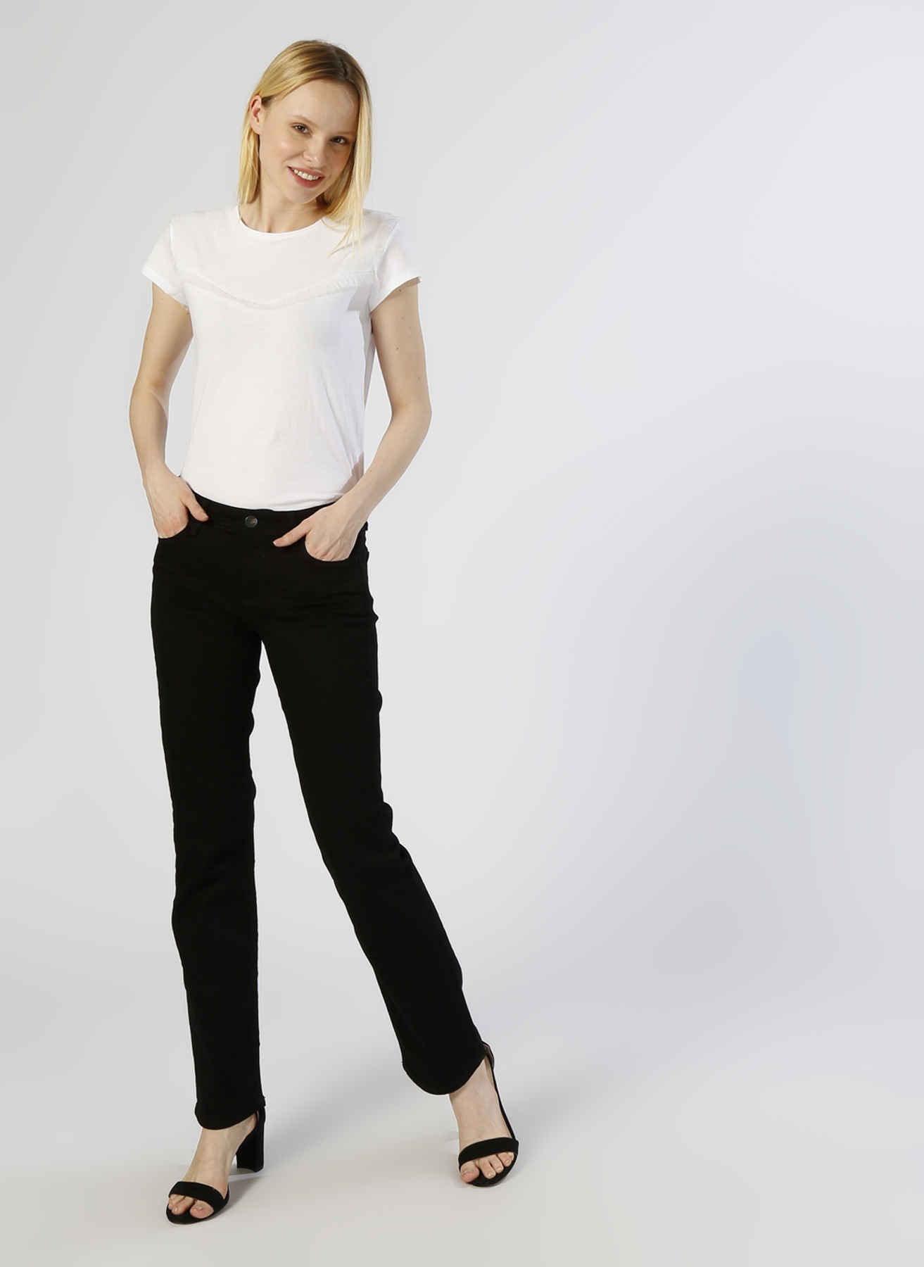 Loft Slim Fit Siyah Denim Pantolon 31-32 5000224877013 Ürün Resmi
