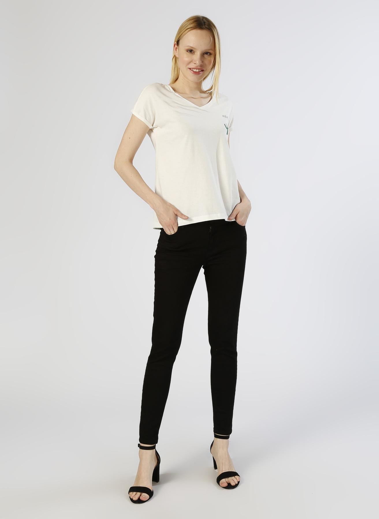 Loft Skinny Siyah Denim Pantolon 29-27 5000225260008 Ürün Resmi
