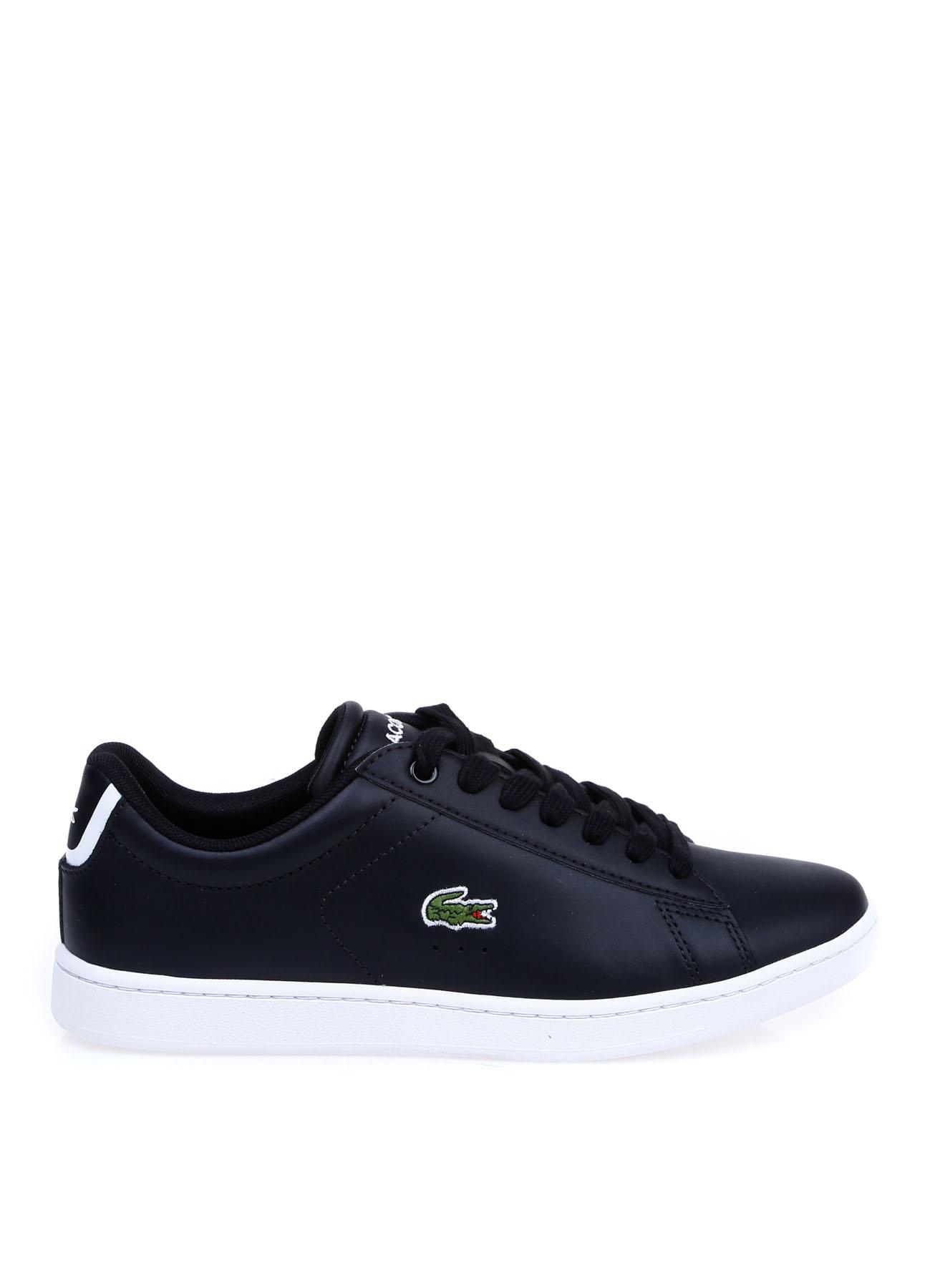 Lacoste Kadın Deri Siyah Düz Ayakkabı 36 5000353883001 Ürün Resmi