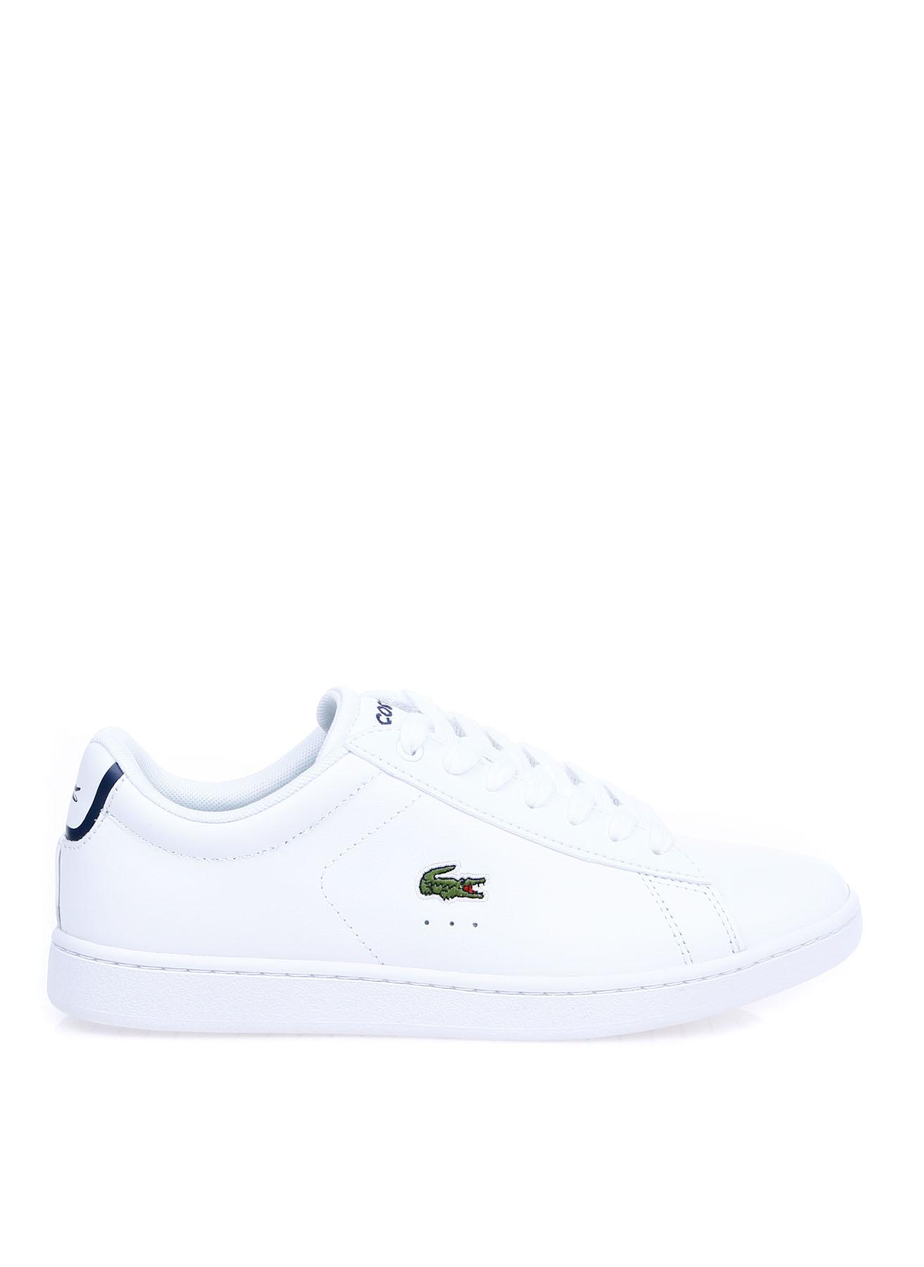 Lacoste Kadın Deri Beyaz Düz Ayakkabı 40 5000354603005 Ürün Resmi