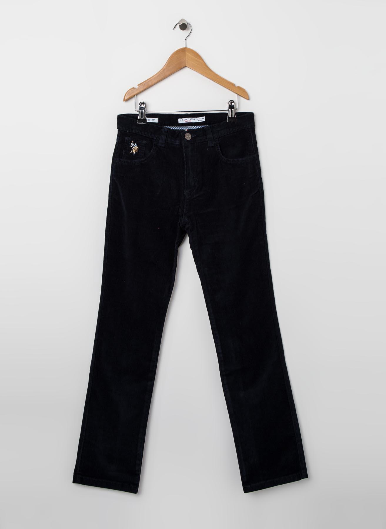 U.S. Polo Assn. Kadife Lacivert Pantolon 9 Yaş 5000375715011 Ürün Resmi