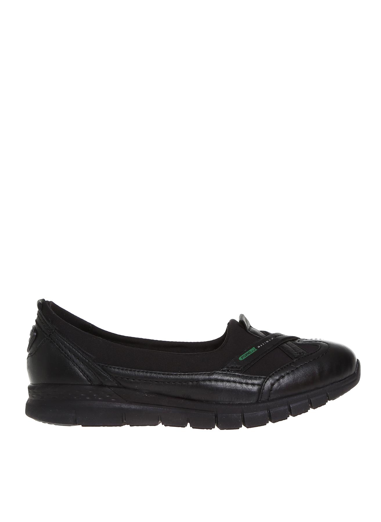 Forelli Siyah Düz Ayakkabı 40 5000420694005 Ürün Resmi