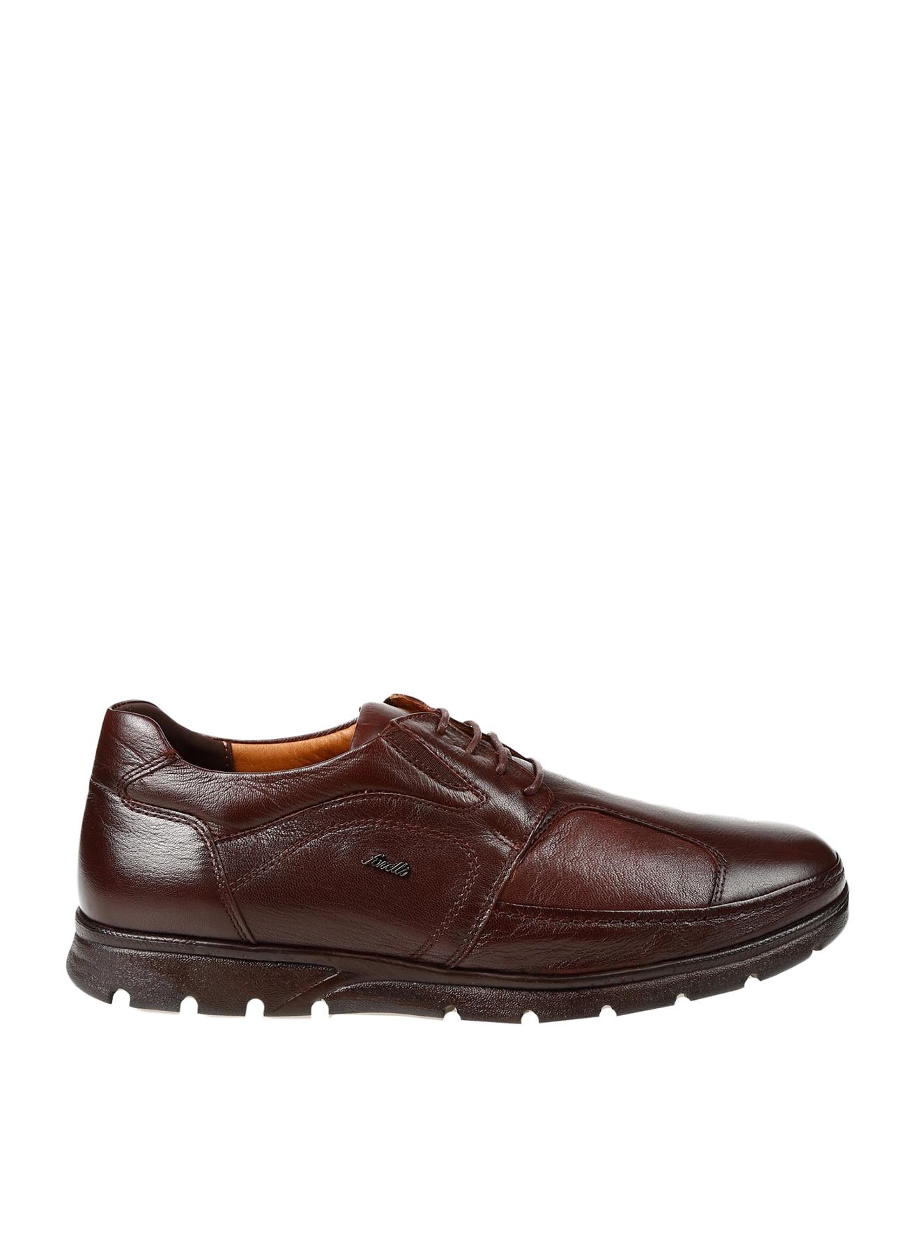 Forelli Erkek Deri Kahverengi Günlük Ayakkabı 42 5000426256003 Ürün Resmi