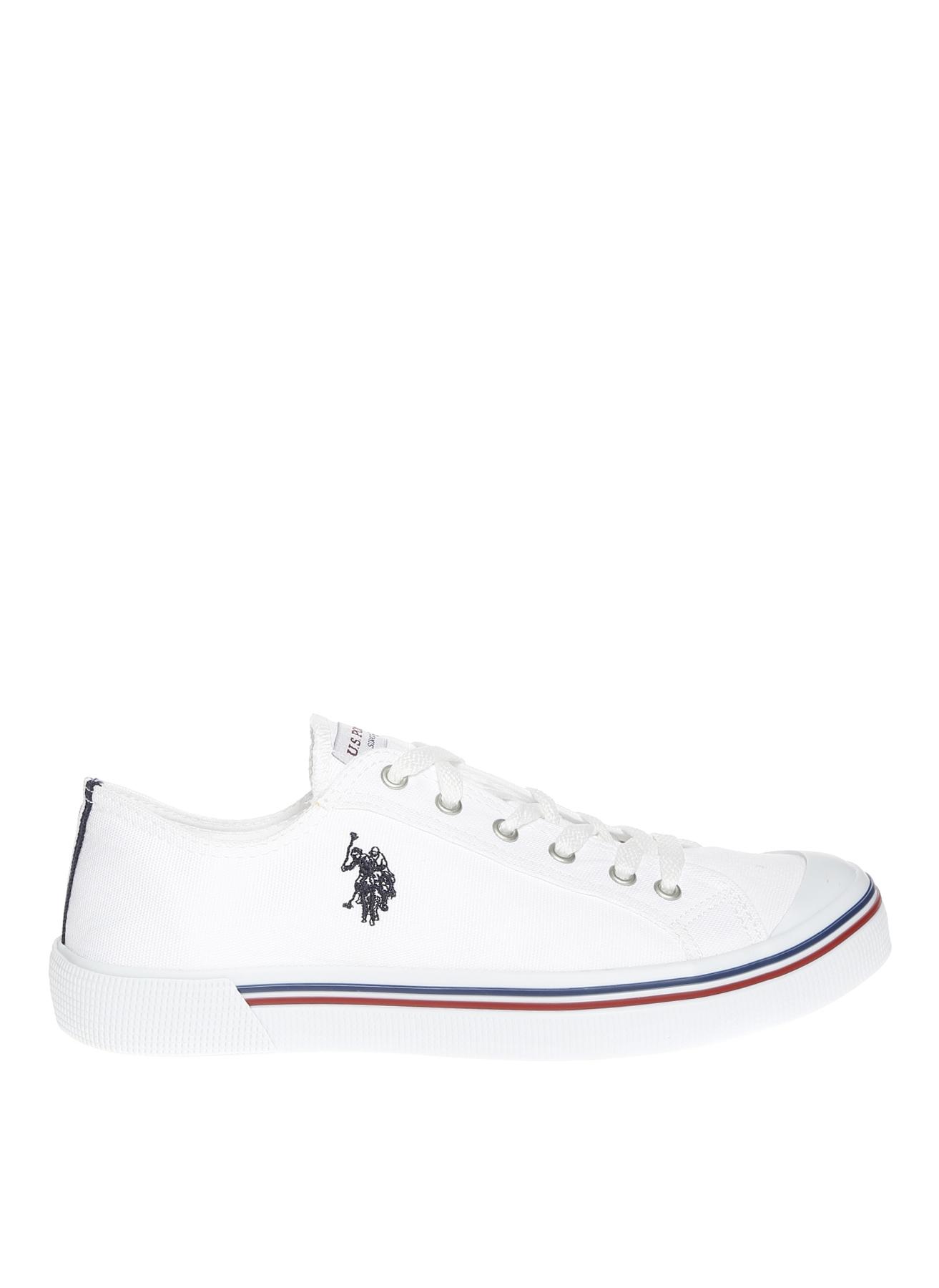 U.S. Polo Assn. Kanvas Beyaz Günlük Ayakkabı 41 5000428664002 Ürün Resmi