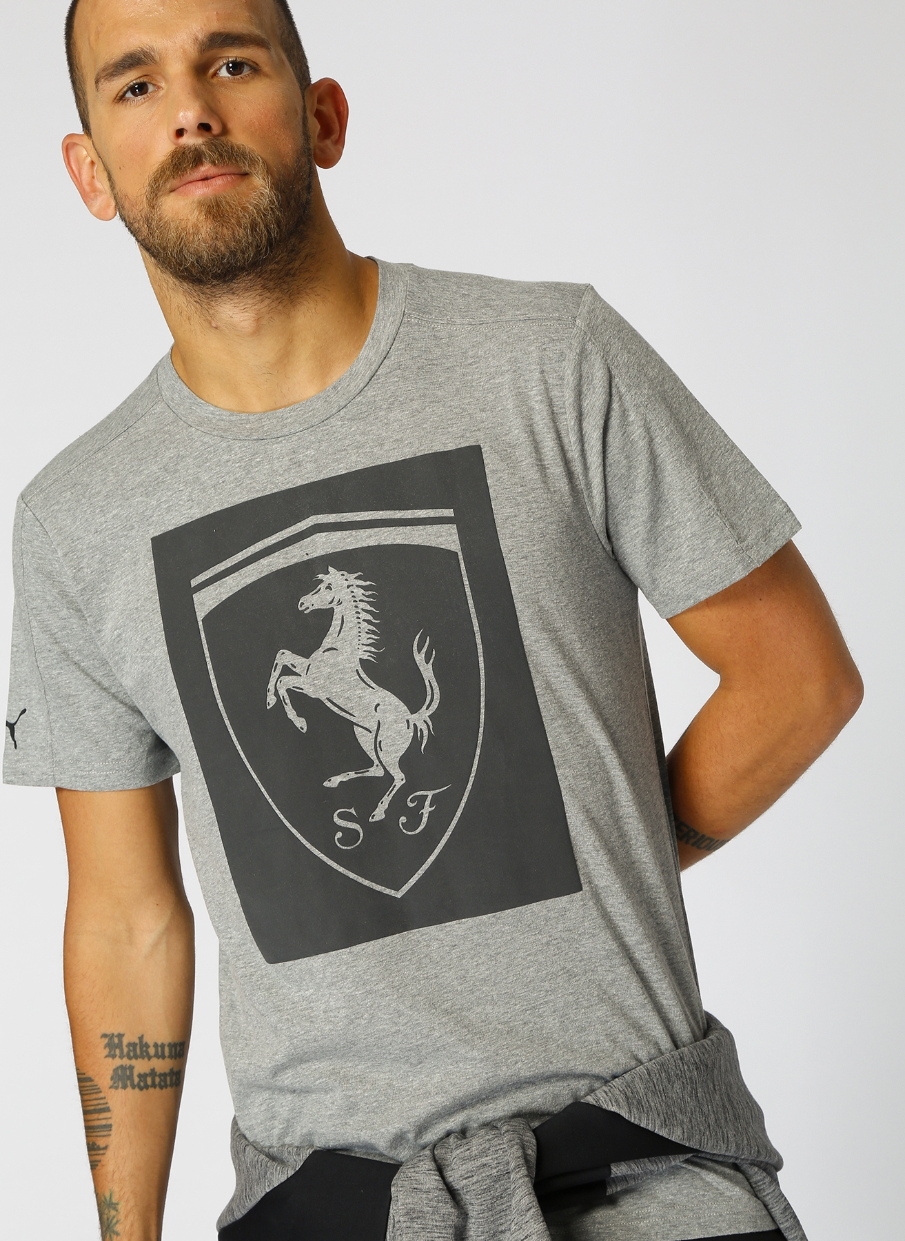 Puma Ferrari Big Shield T-Shirt S 5000430592003 Ürün Resmi
