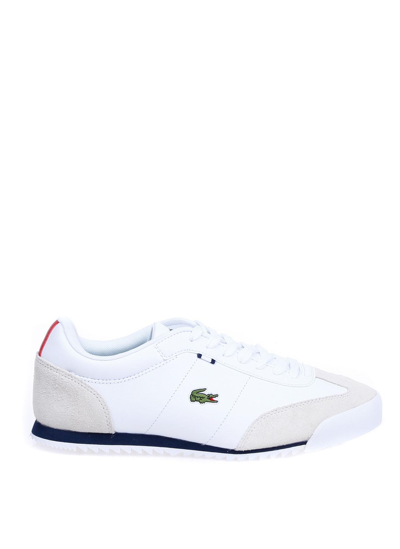 Lacoste Erkek Deri Beyaz Lifestyle Ayakkabı 41 5001483967004 Ürün Resmi