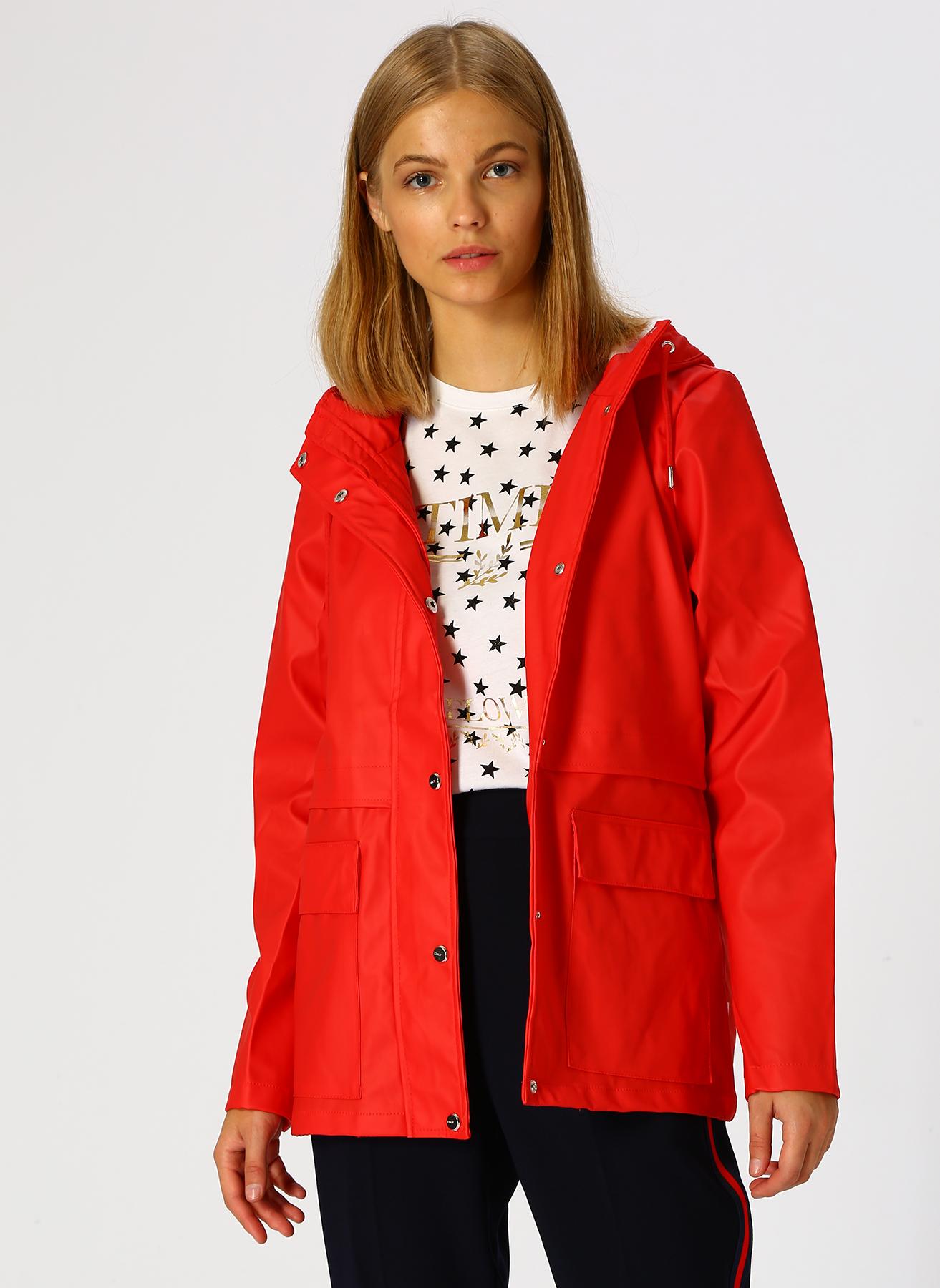 Only Kırmızı Ceket M 5001598832002 Ürün Resmi