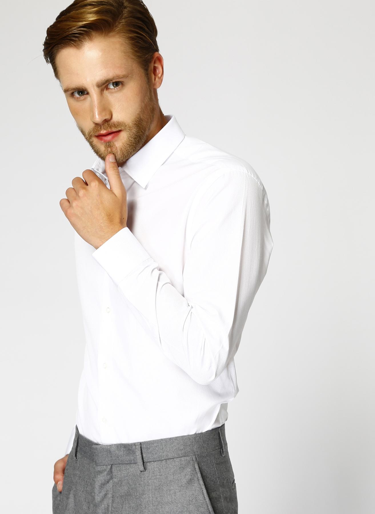 Fabrika Beyaz Gömlek L 5001604237003 Ürün Resmi