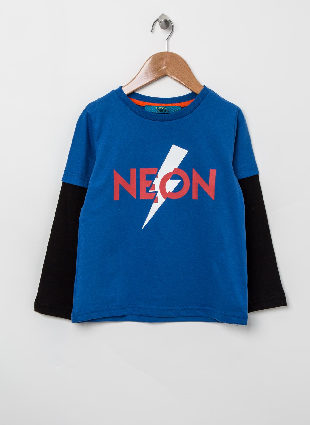 Funky Rocks Yazılı T-Shirt 3 Yaş 5001628781001 Ürün Resmi