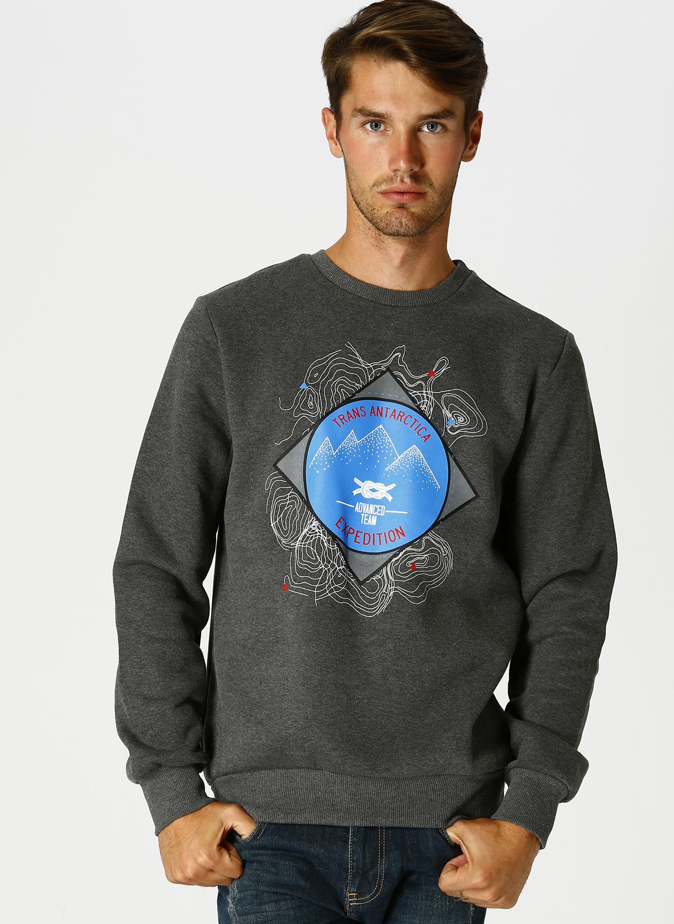 Limon Antrasit Sweatshirt 2XL 5001629410005 Ürün Resmi
