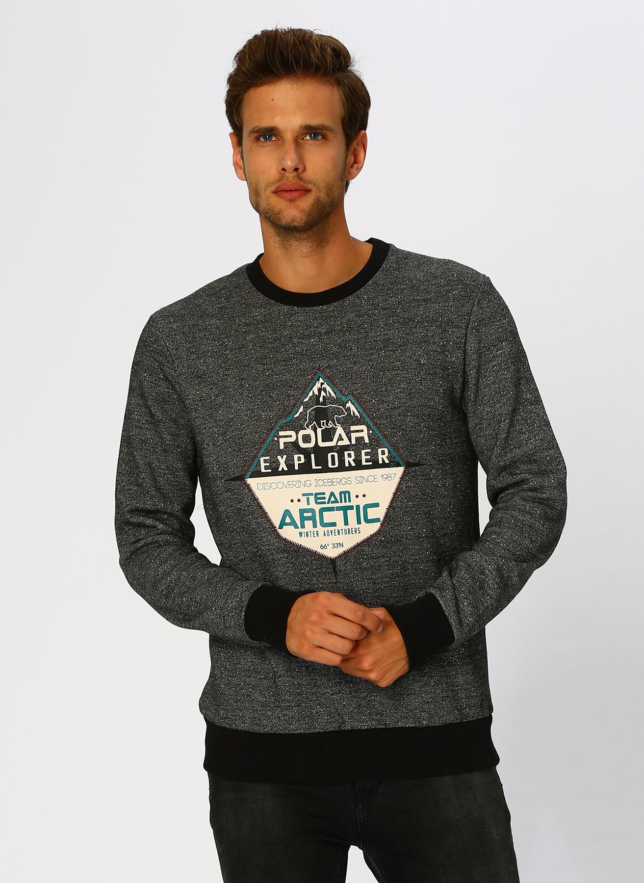 Limon Antrasit Sweatshirt 2XL 5001629414005 Ürün Resmi