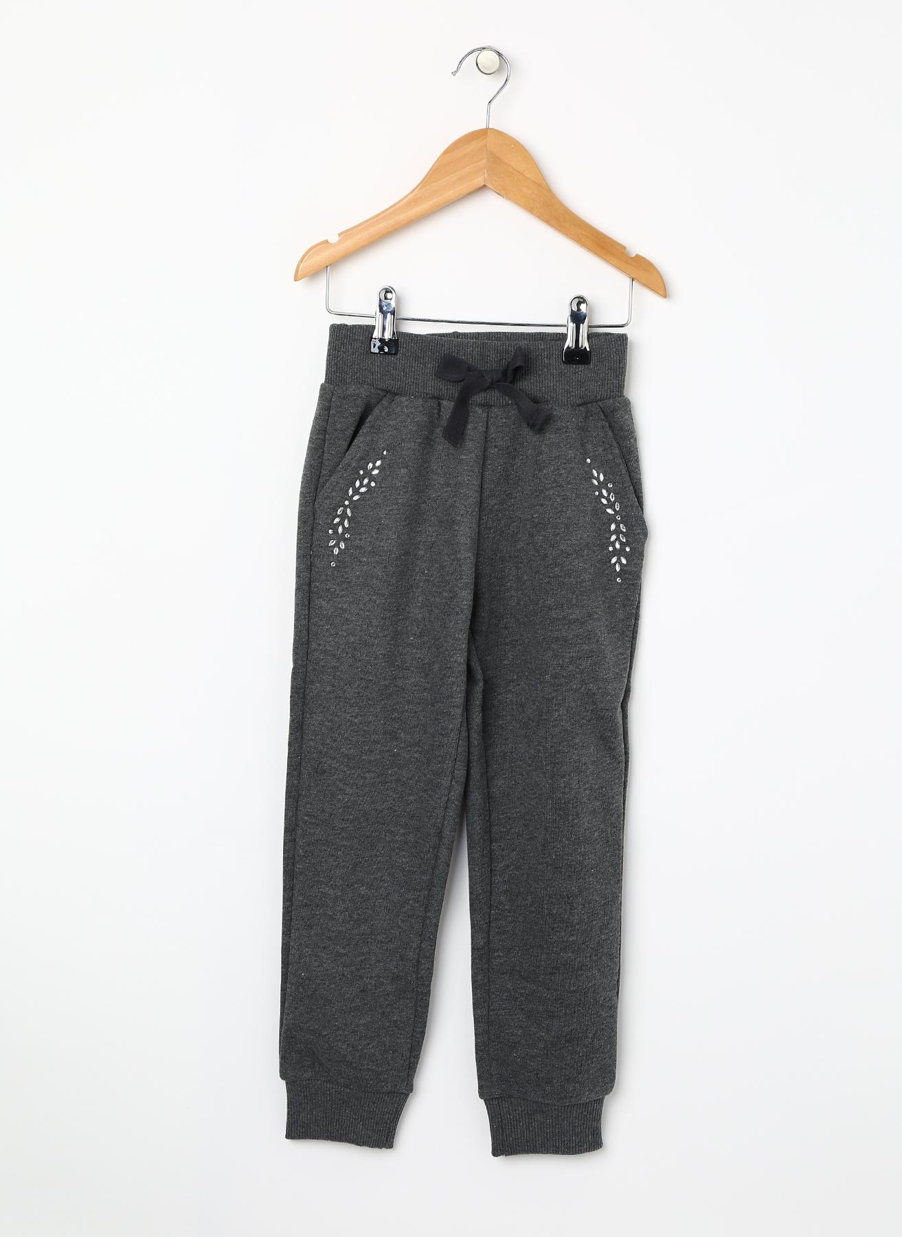 Barbie Taşlı Antrasit Sweatpant 7-8 Yaş 5001629545003 Ürün Resmi