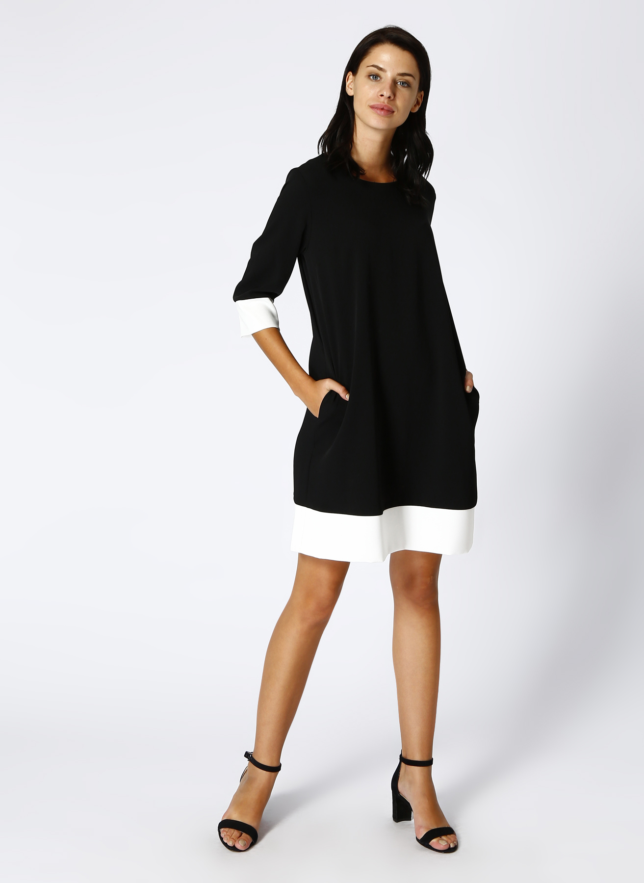 House Of Camellia Siyah Elbise 40 5001630789003 Ürün Resmi