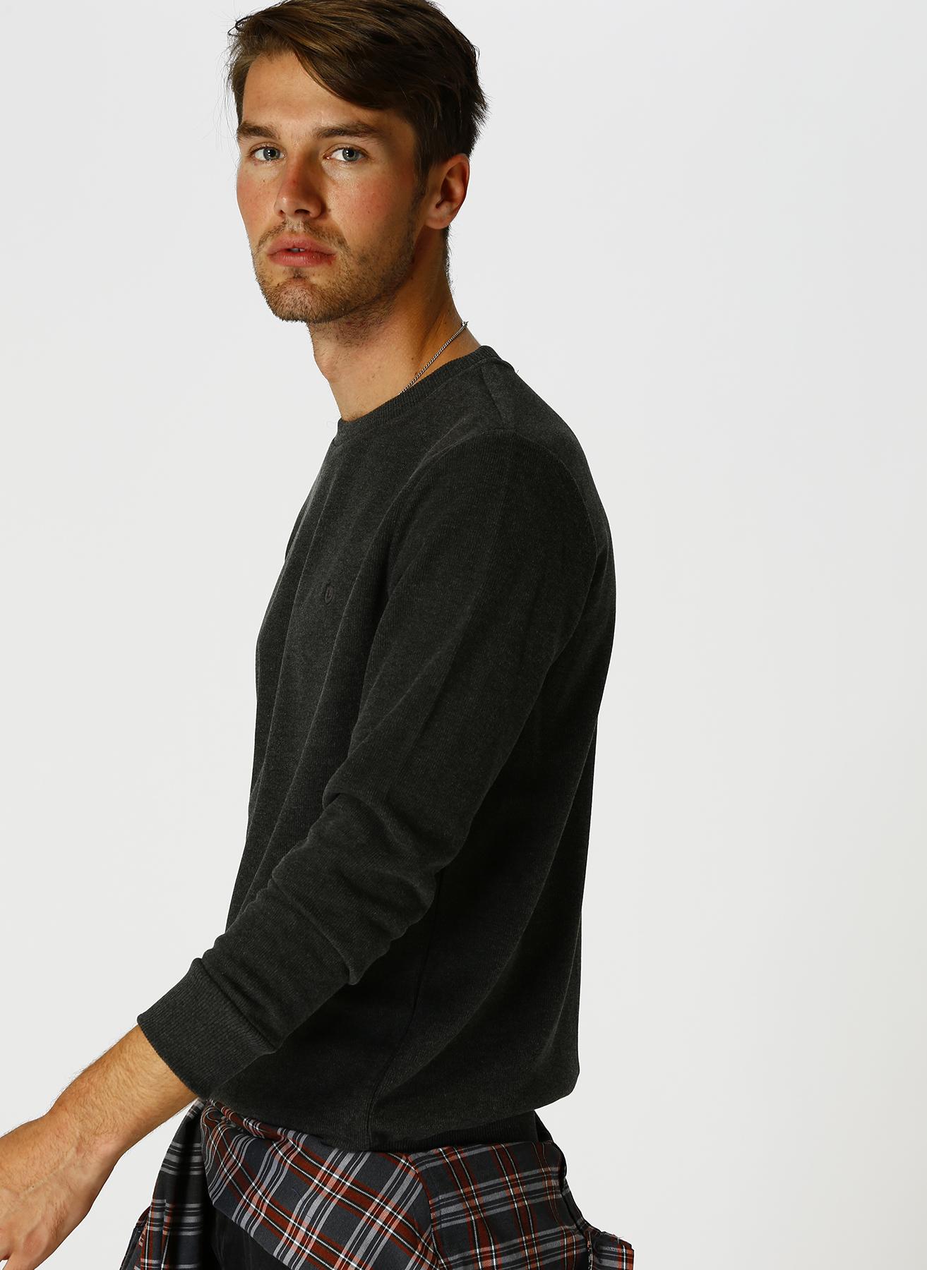Limon Antrasit Melanj Sweatshirt 2XL 5001631868005 Ürün Resmi