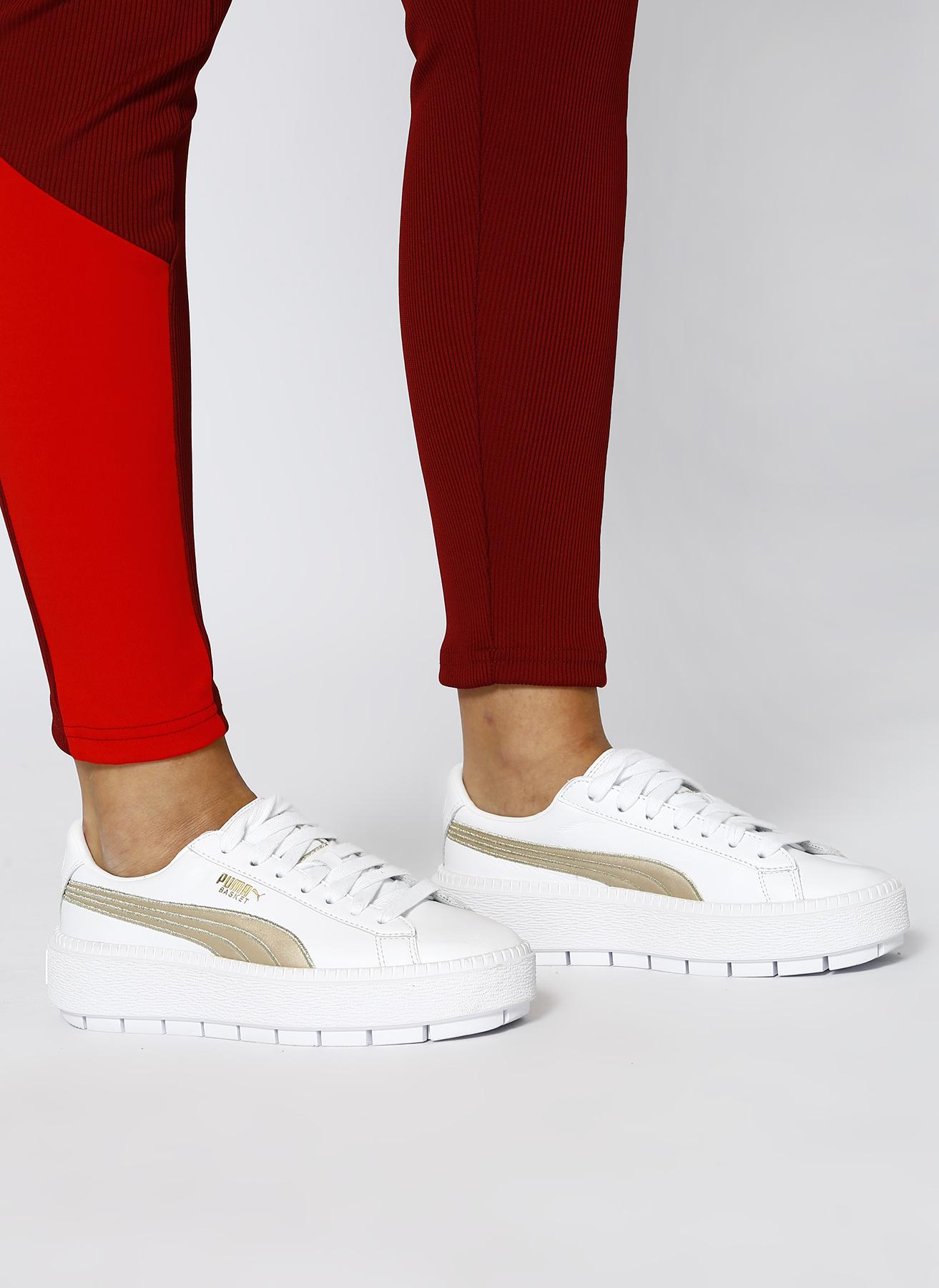 Puma Platform Trace Varsity Wn s Lifestyle Ayakkabı 37.5 5001632650003 Ürün Resmi