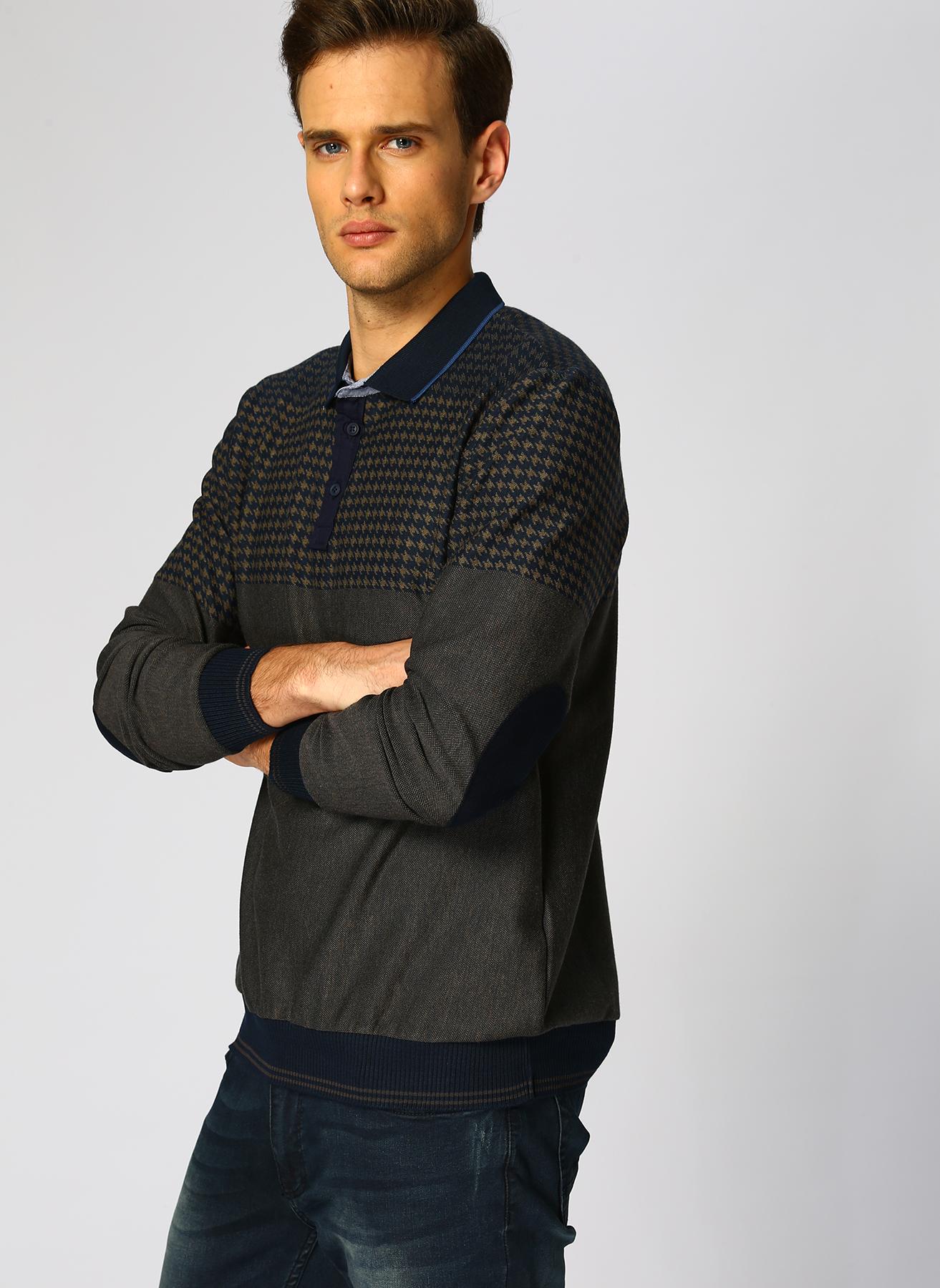 Cotton Bar Lacivert Sweatshirt S 5001633984001 Ürün Resmi