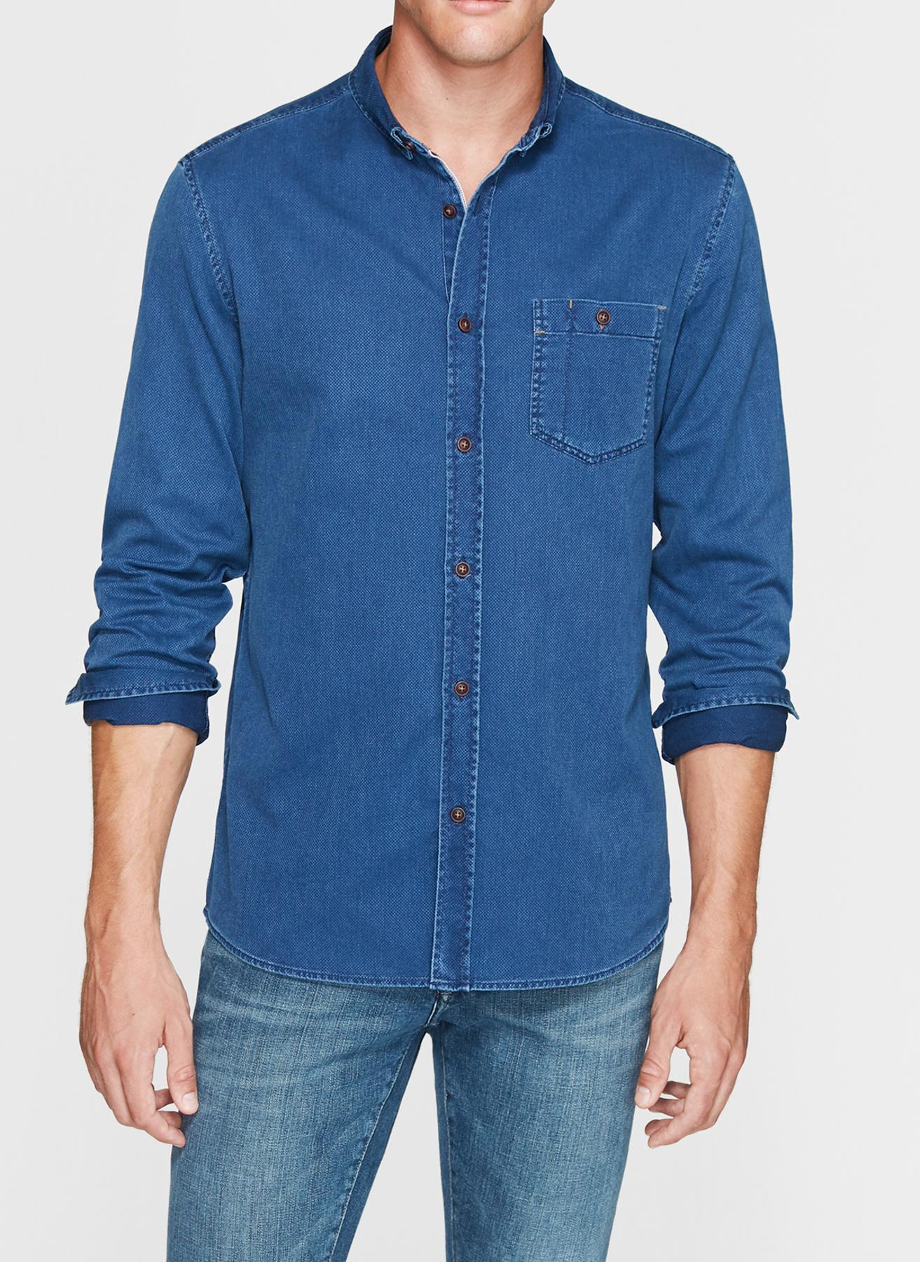 Mavi Gömlek M 5001634383002 Ürün Resmi