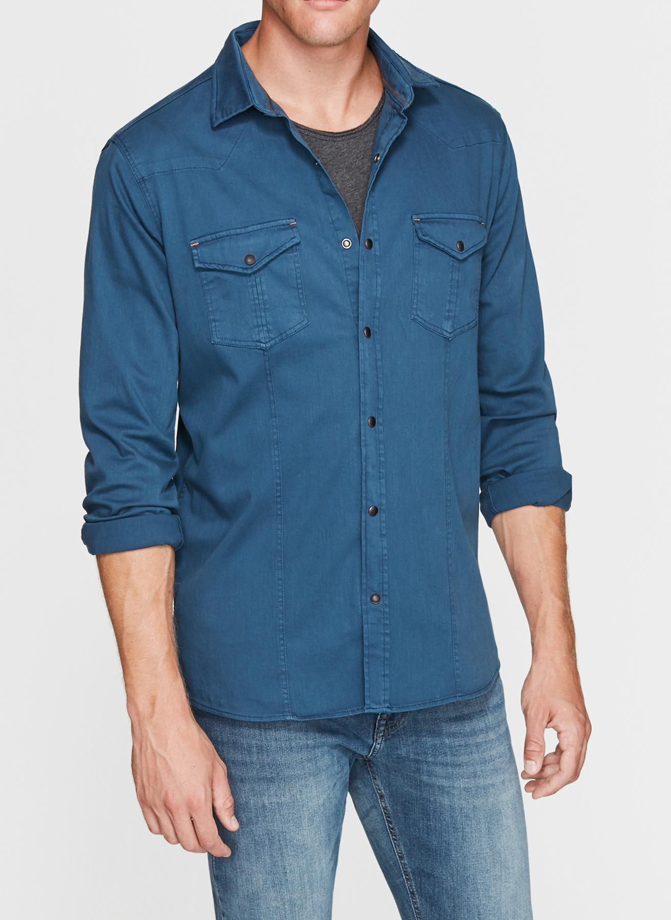 Mavi Gömlek L 5001634401001 Ürün Resmi