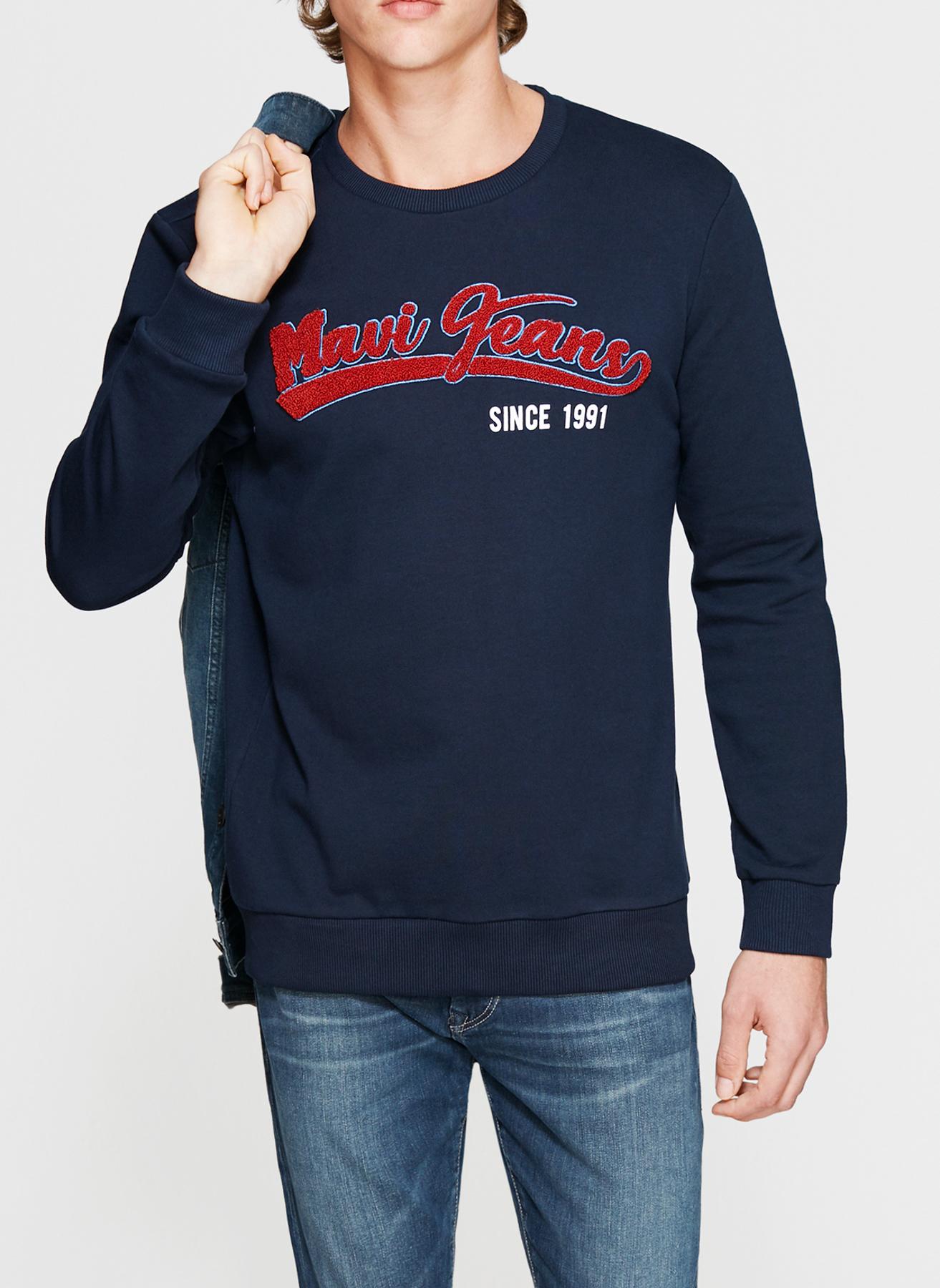 Mavi Koyu Lacivert Sweatshirt M 5001634525002 Ürün Resmi