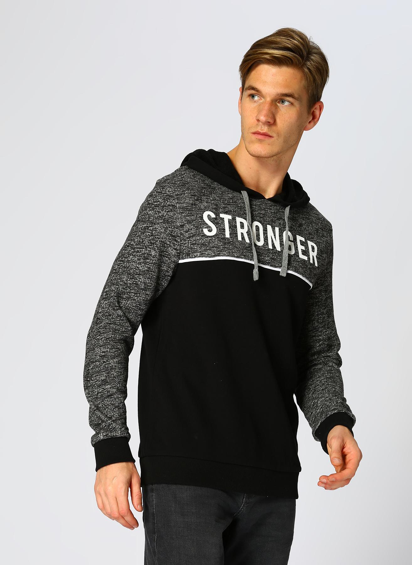 Mavi Siyah Sweatshirt L 5001634539001 Ürün Resmi