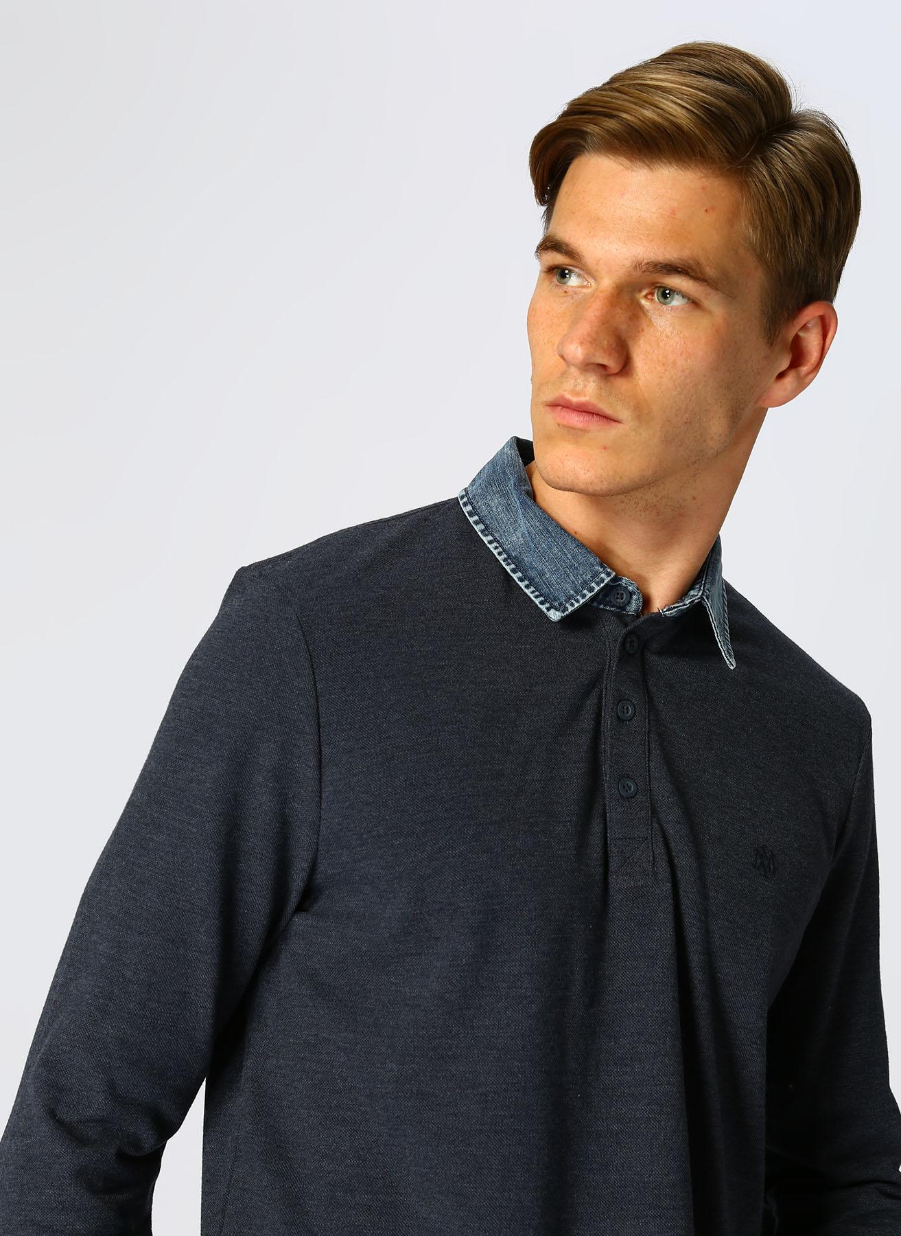 Mavi İndigo Melanj T-Shirt S 5001634603003 Ürün Resmi