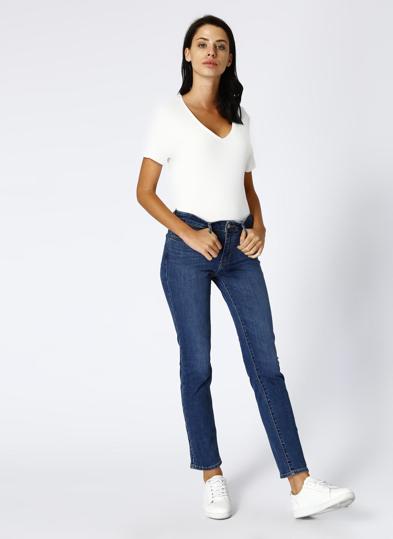 Levis 712 Slim İndigo Denim Pantolon 30-30 5001696883017 Ürün Resmi
