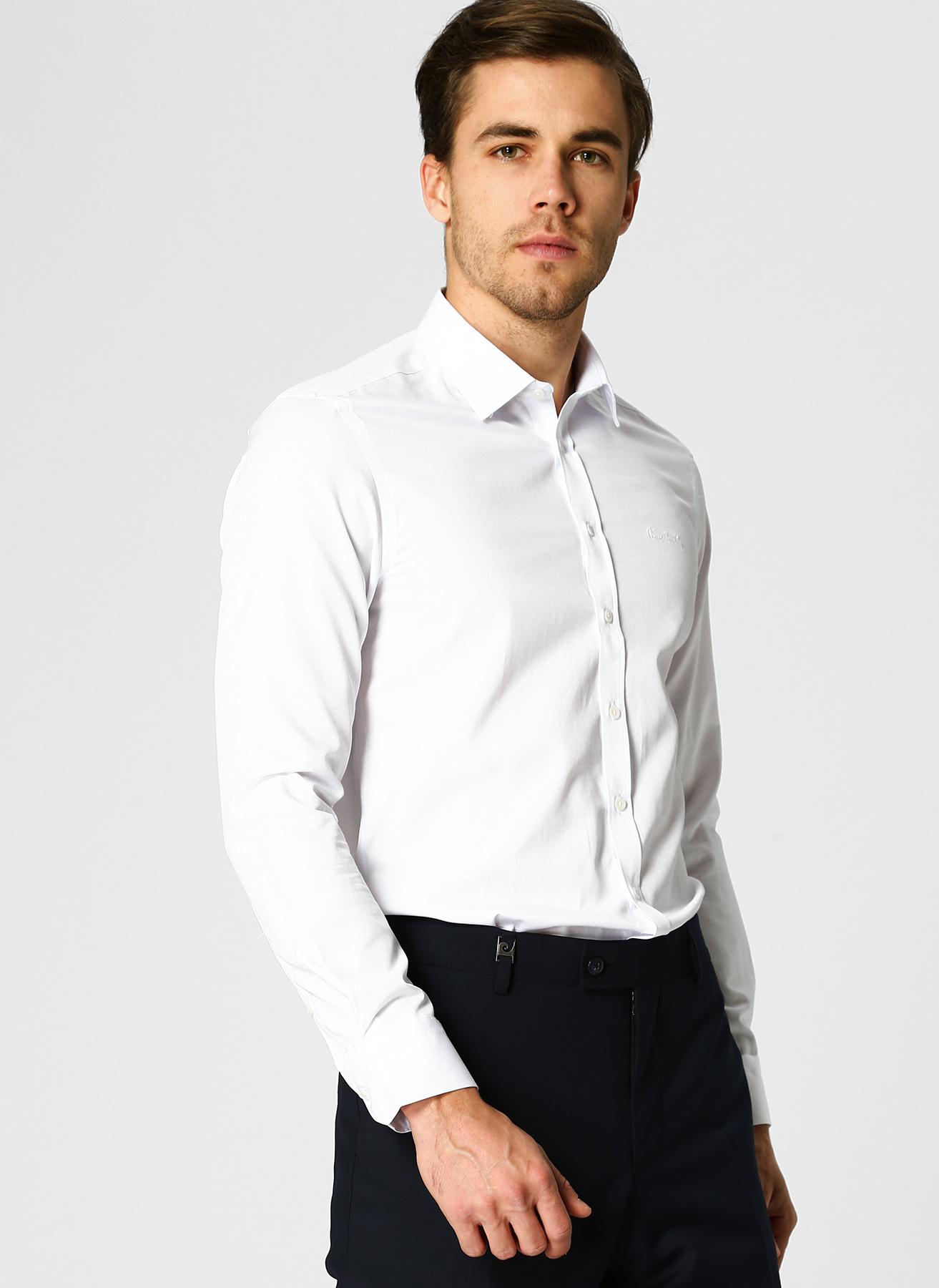 Pierre Cardin Beyaz Gömlek 4XL 5001697824001 Ürün Resmi