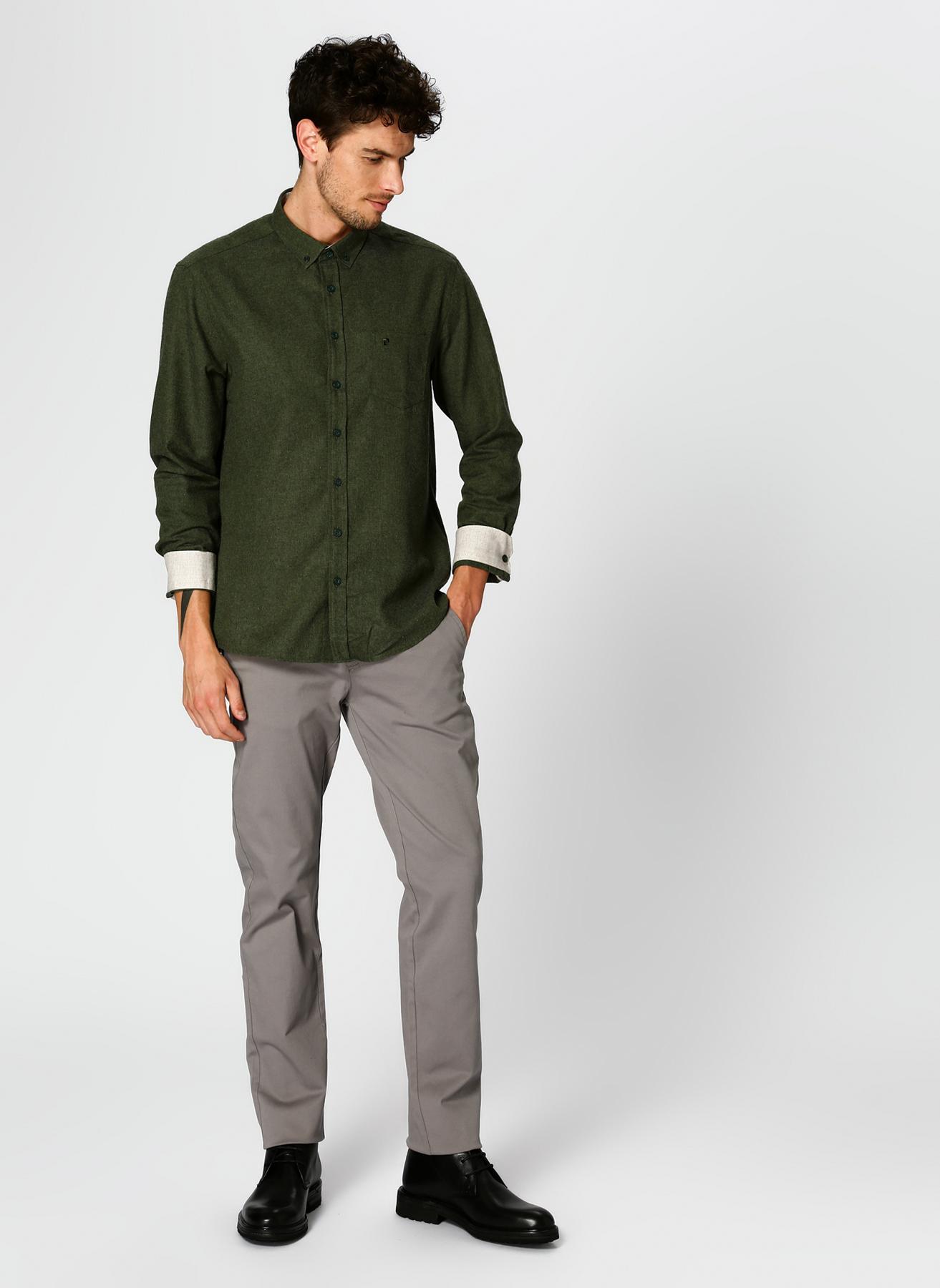 Pierre Cardin Gri Klasik Pantolon 40 5001697833009 Ürün Resmi