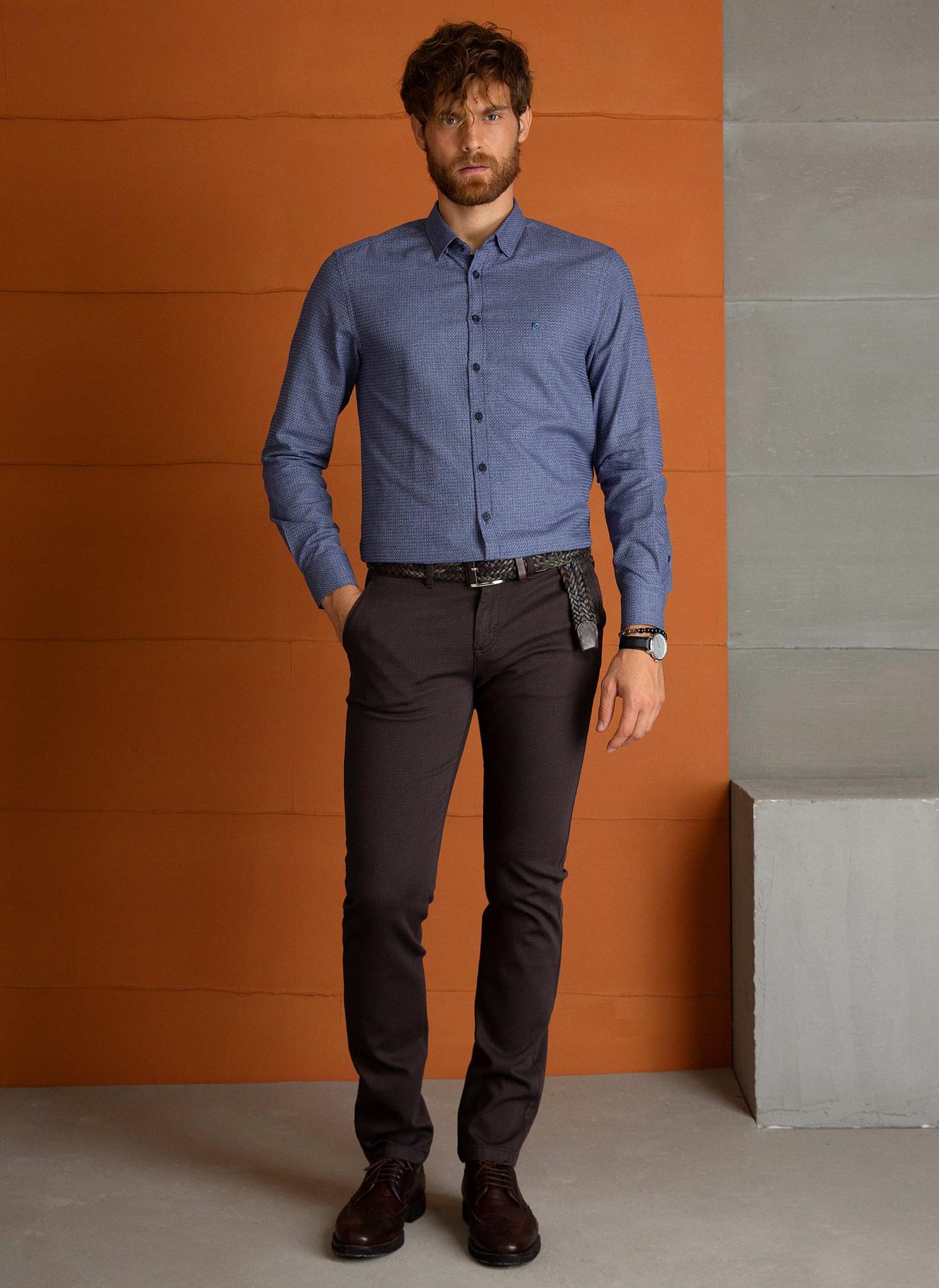 Pierre Cardin Kahve Klasik Pantolon 40 5001697837009 Ürün Resmi