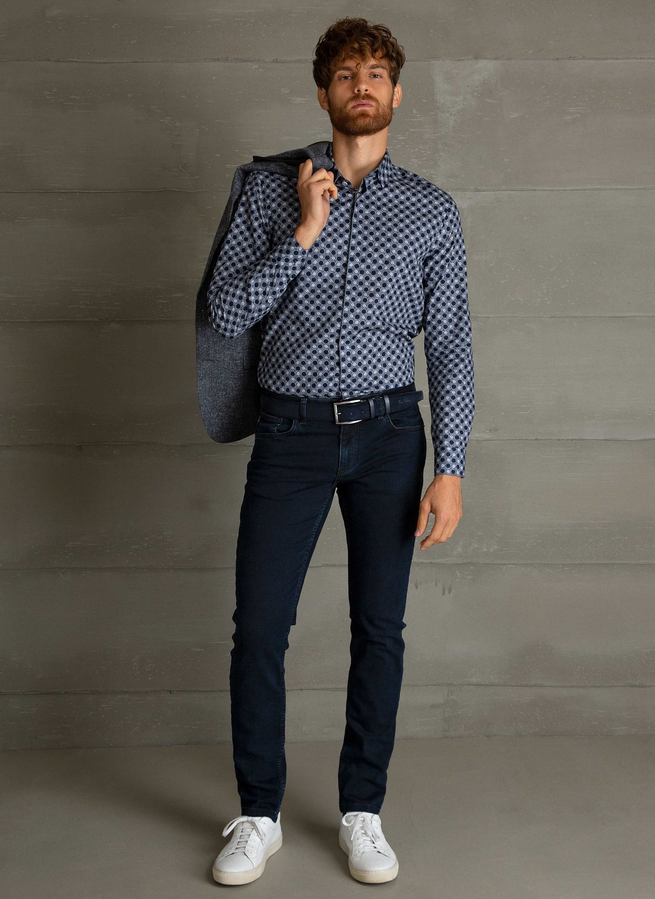 Pierre Cardin Koyu Lacivert Denim Pantolon 42-32 5001697874009 Ürün Resmi