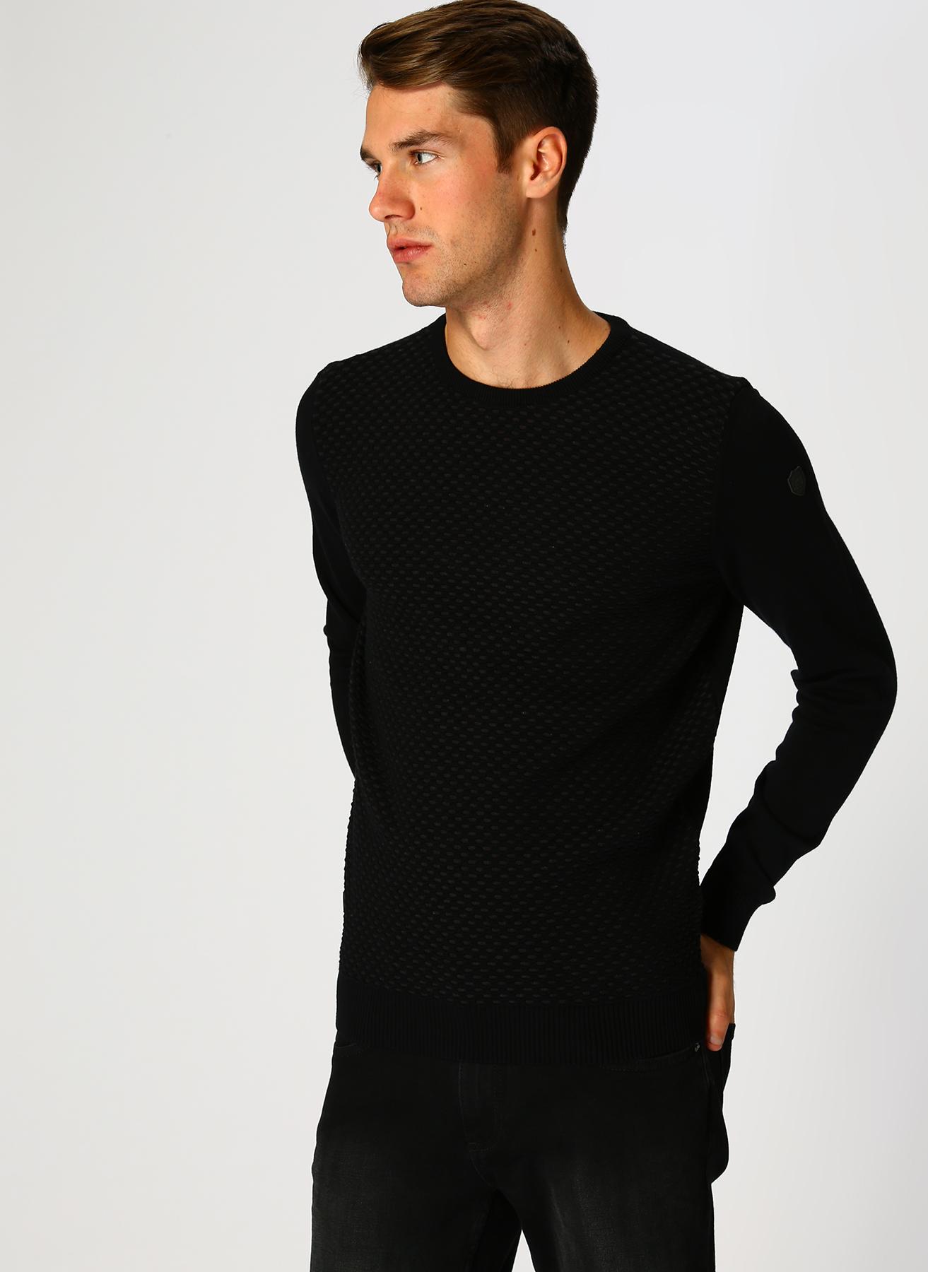 Pierre Cardin Siyah Kazak XL 5001698118003 Ürün Resmi