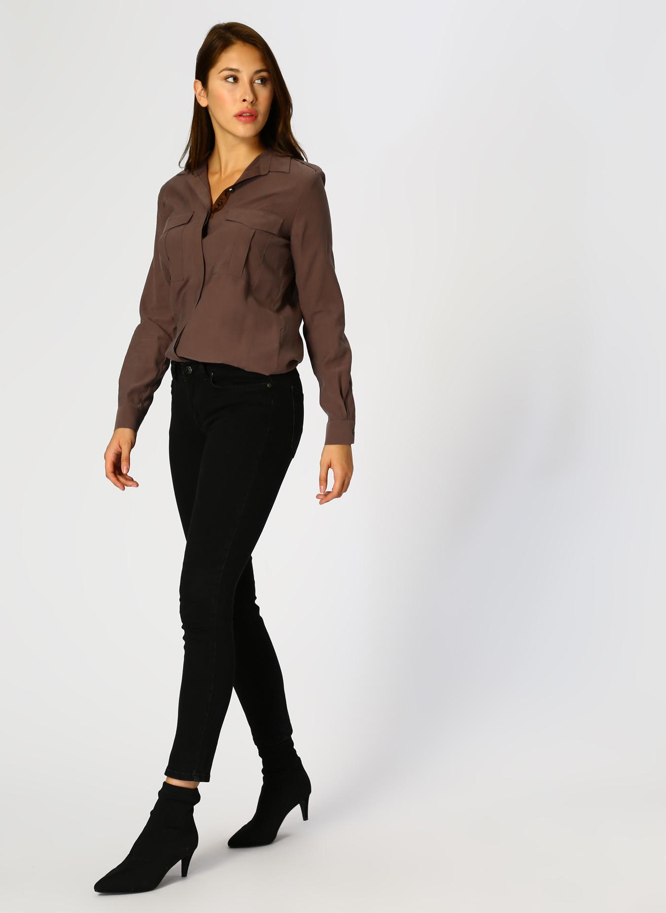 Mustang Skinny Siyah Denim Pantolon 28-32 5001698129004 Ürün Resmi