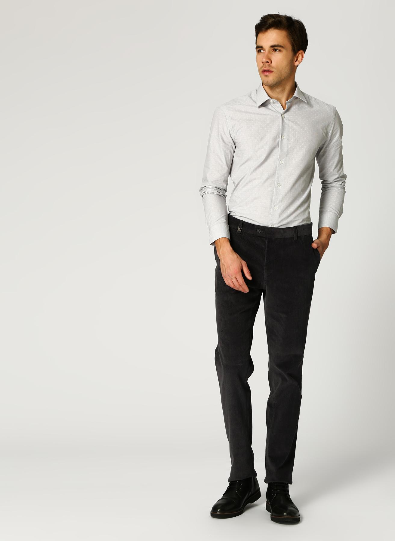 Pierre Cardin Kadife Füme Klasik Pantolon 46 5001698338001 Ürün Resmi