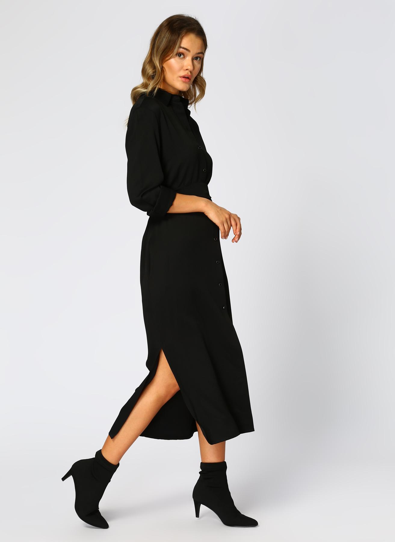 Beymen Studio Siyah Elbise 40 5001698778003 Ürün Resmi