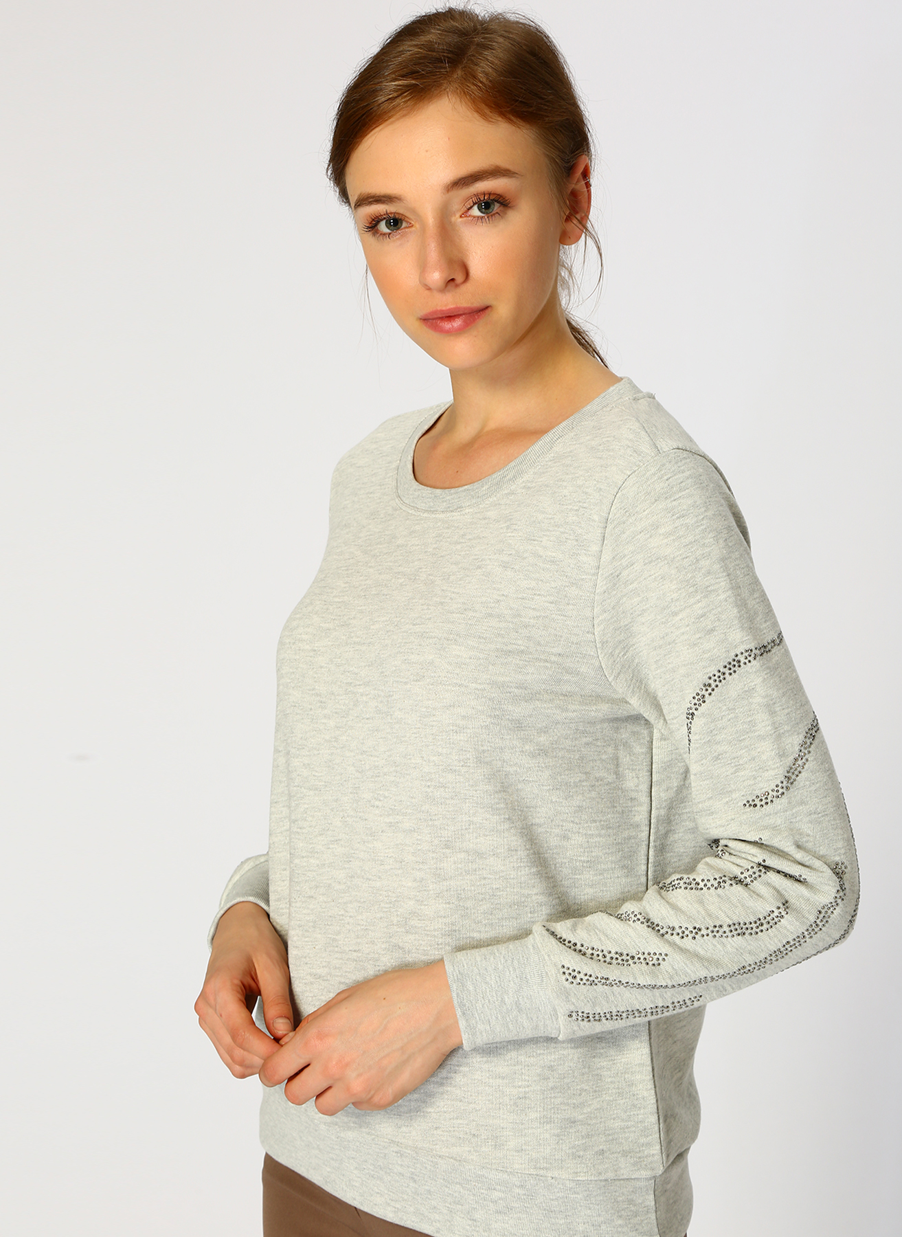 Network Gri Sweatshirt XL 5001699163005 Ürün Resmi