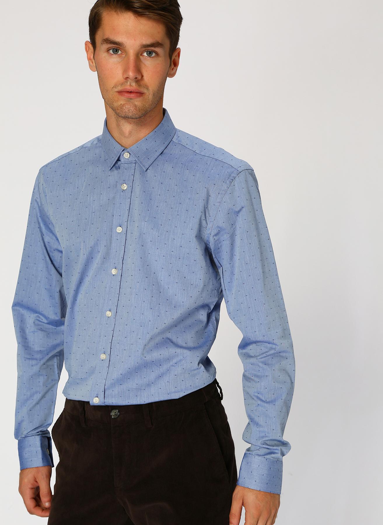 George Hogg Mavi Gömlek 44 5001699225006 Ürün Resmi