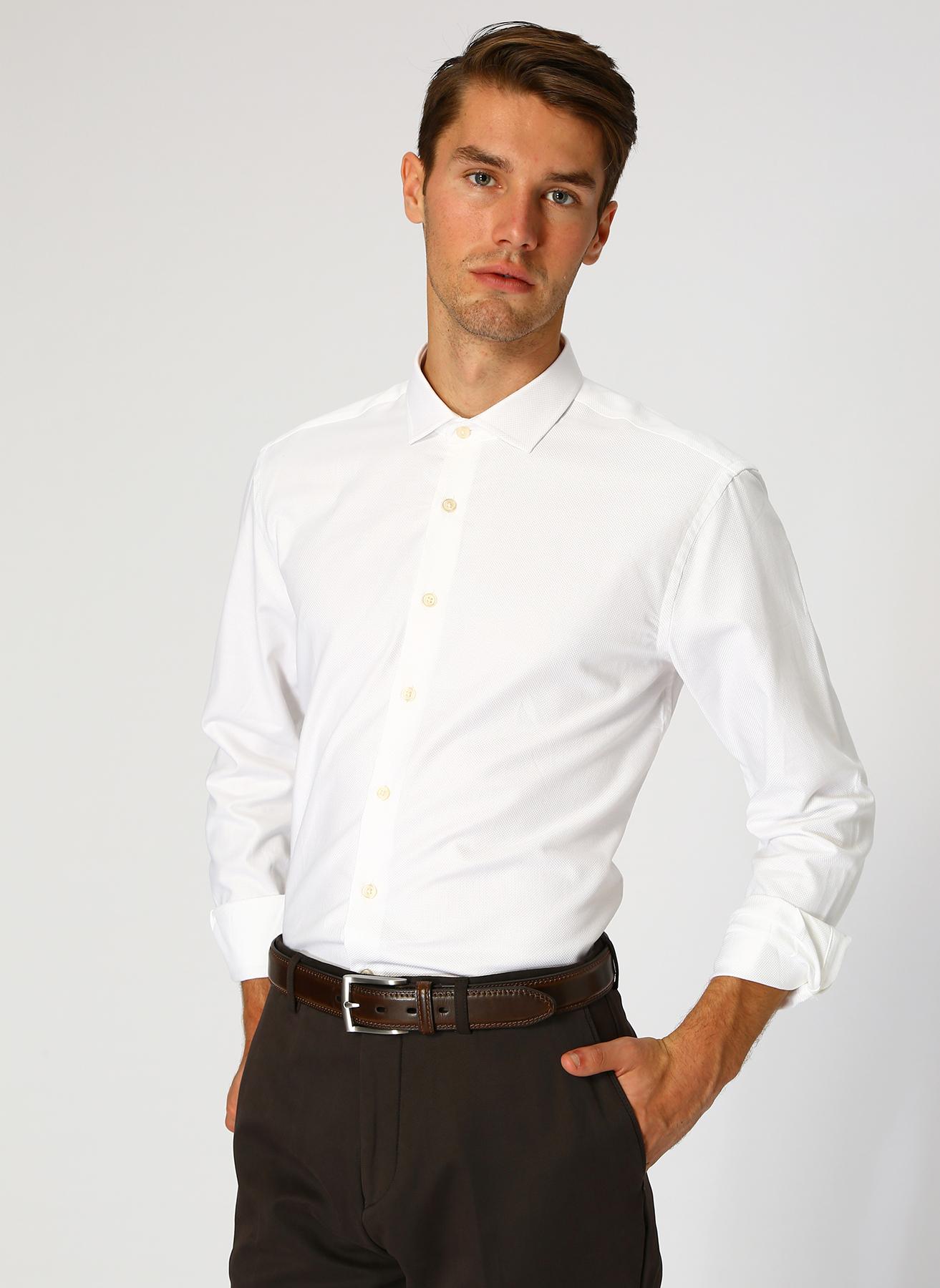 George Hogg Beyaz Gömlek 45 5001699232007 Ürün Resmi