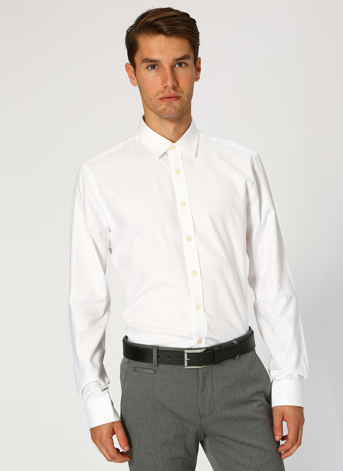 George Hogg Beyaz Gömlek 39 5001699233001 Ürün Resmi