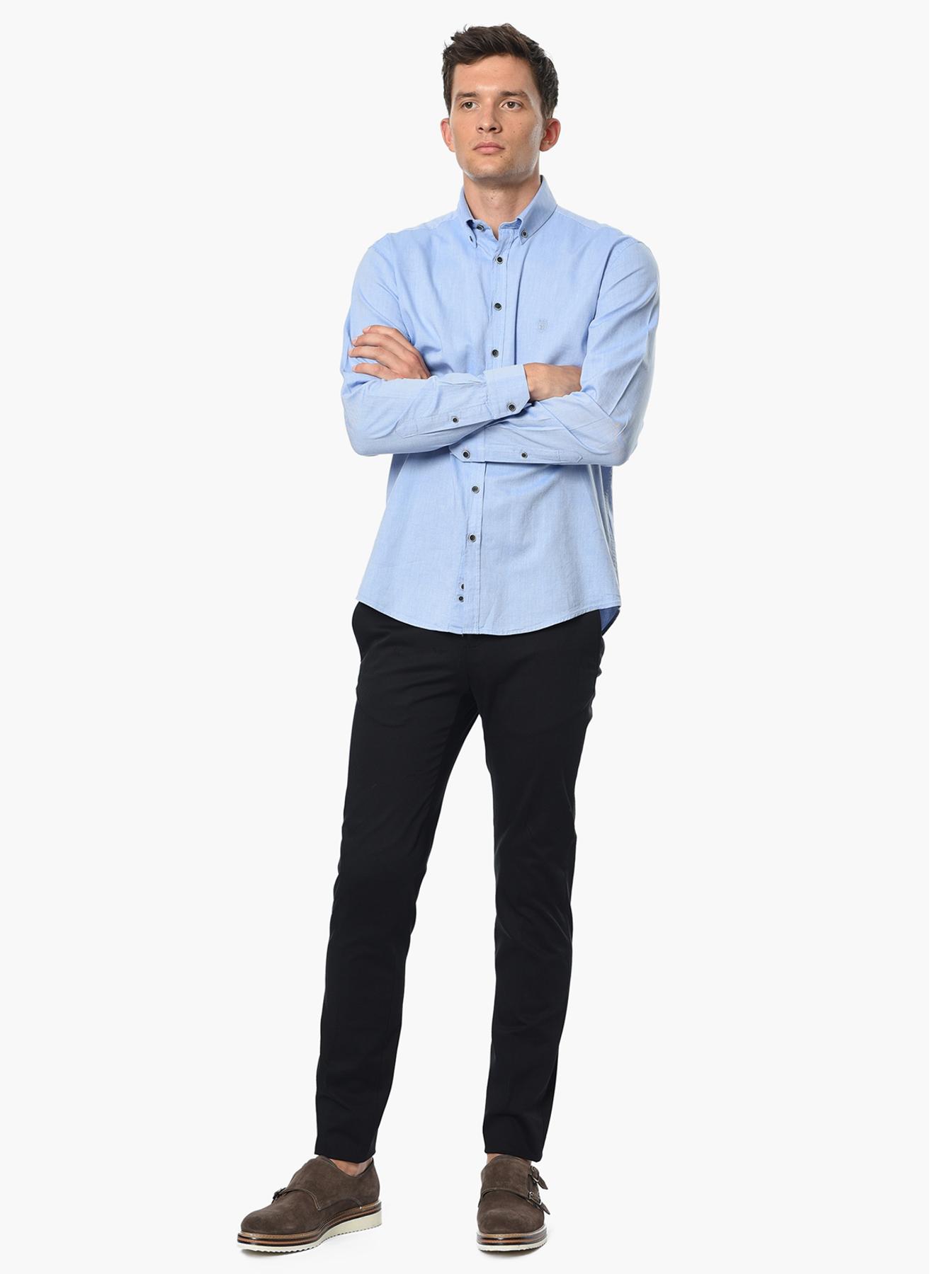 George Hogg Klasik Siyah Klasik Pantolon 46-6 5001699239001 Ürün Resmi