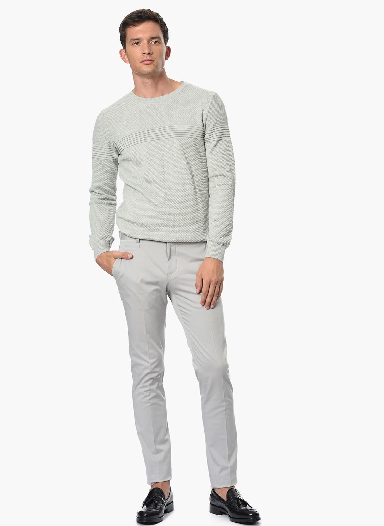 George Hogg Klasik Gri Klasik Pantolon 48-6 5001699240002 Ürün Resmi