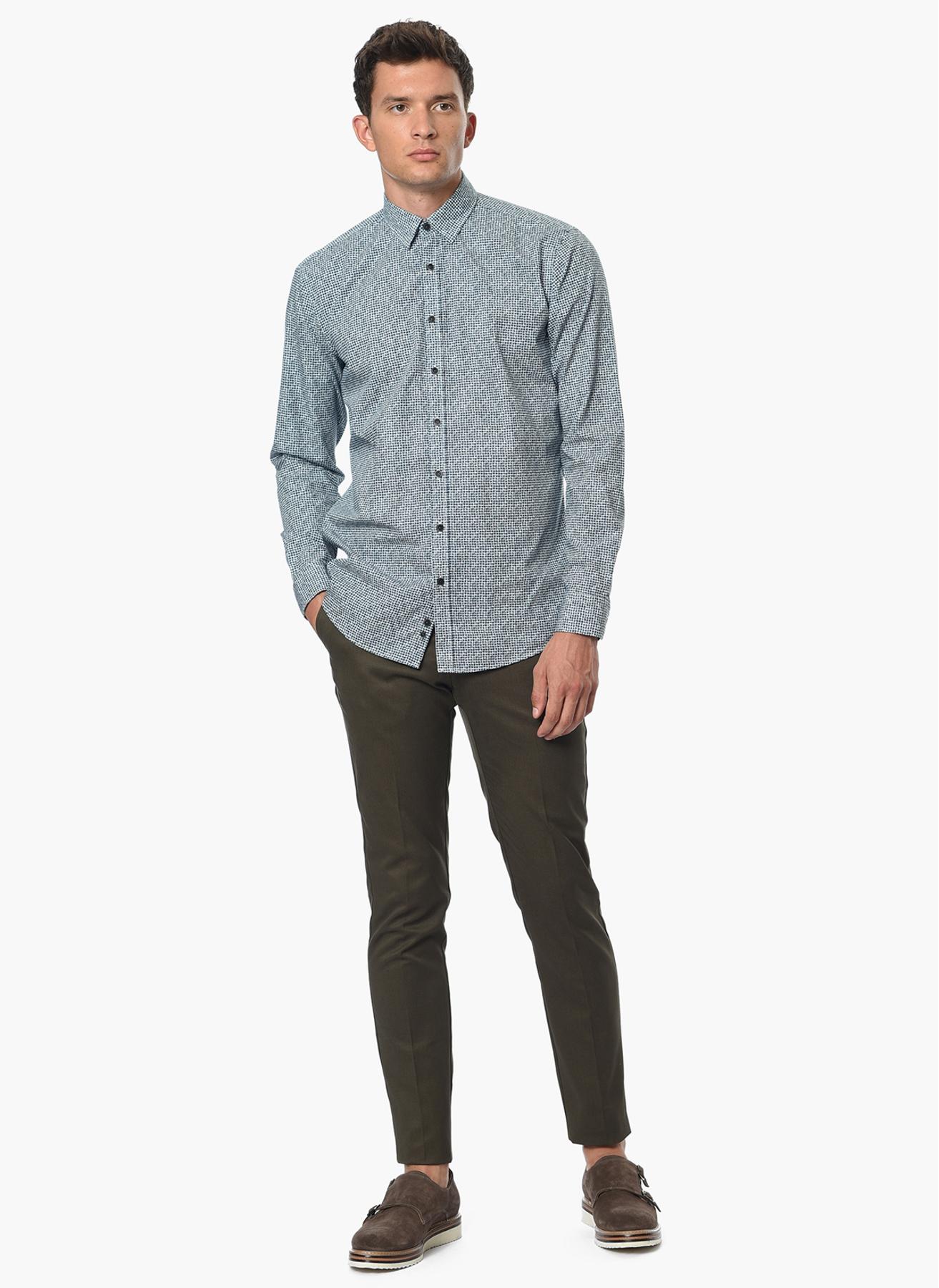 George Hogg Casual Yağ Yeşili Klasik Pantolon 46-6 5001699245001 Ürün Resmi