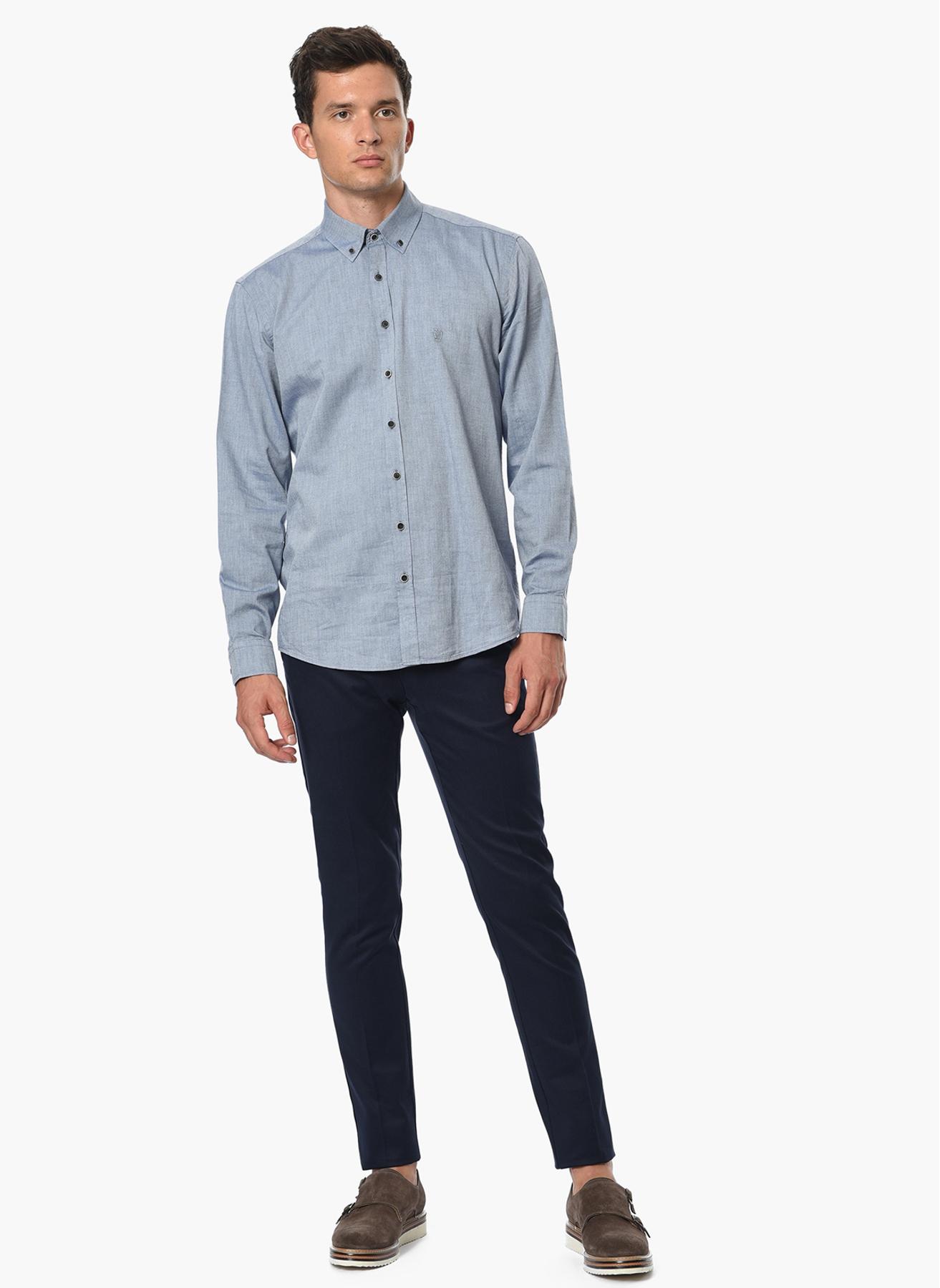 George Hogg Casual Lacivert Klasik Pantolon 50-6 5001699246003 Ürün Resmi