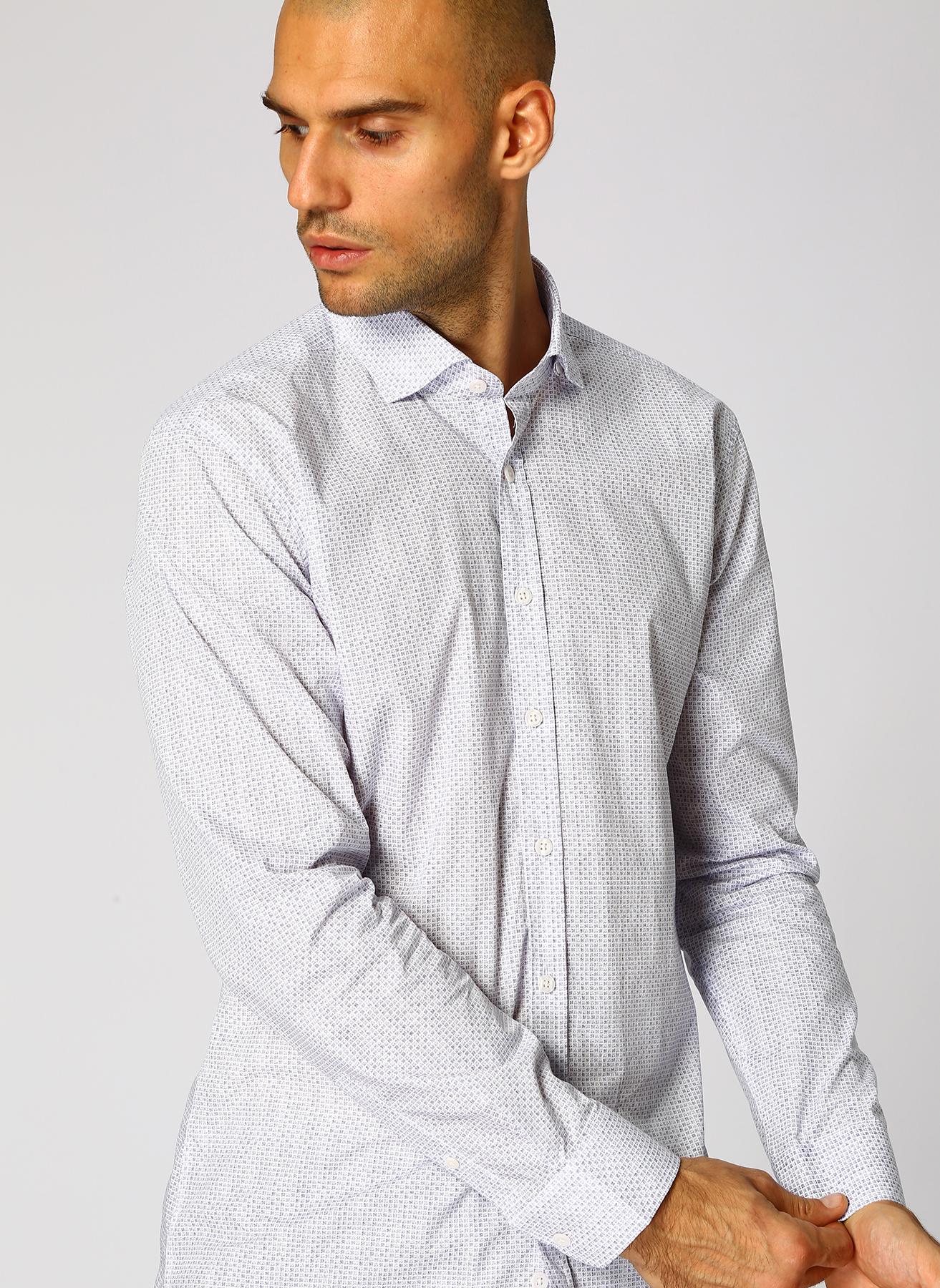 George Hogg Koyu Lacivert Gömlek 42 5001699320004 Ürün Resmi