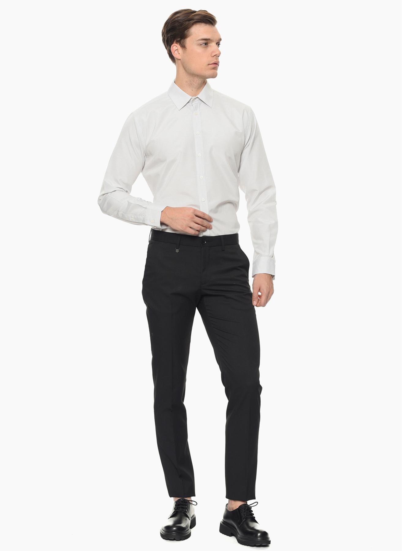 George Hogg Desenli Beyaz Gömlek 39 5001699323001 Ürün Resmi