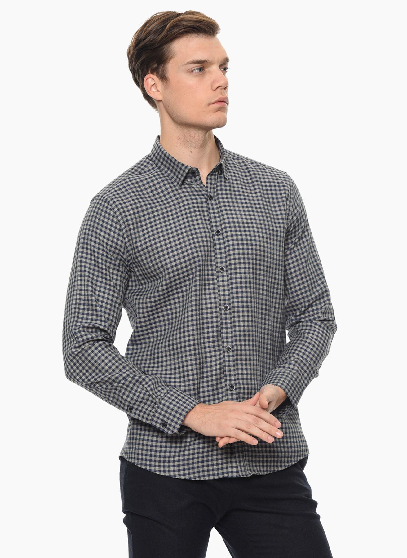 George Hogg Koyu Lacivert Gömlek 40 5001699343002 Ürün Resmi