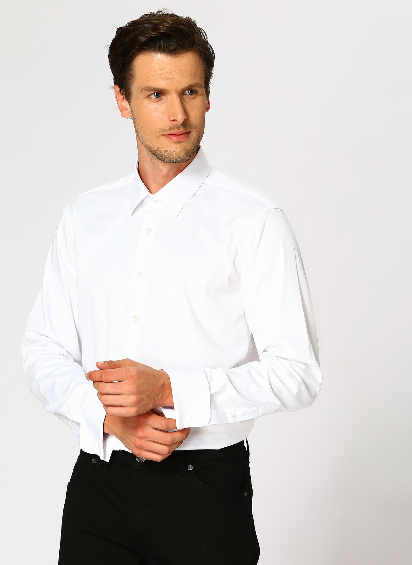 George Hogg Beyaz Gömlek 40 5001699348002 Ürün Resmi