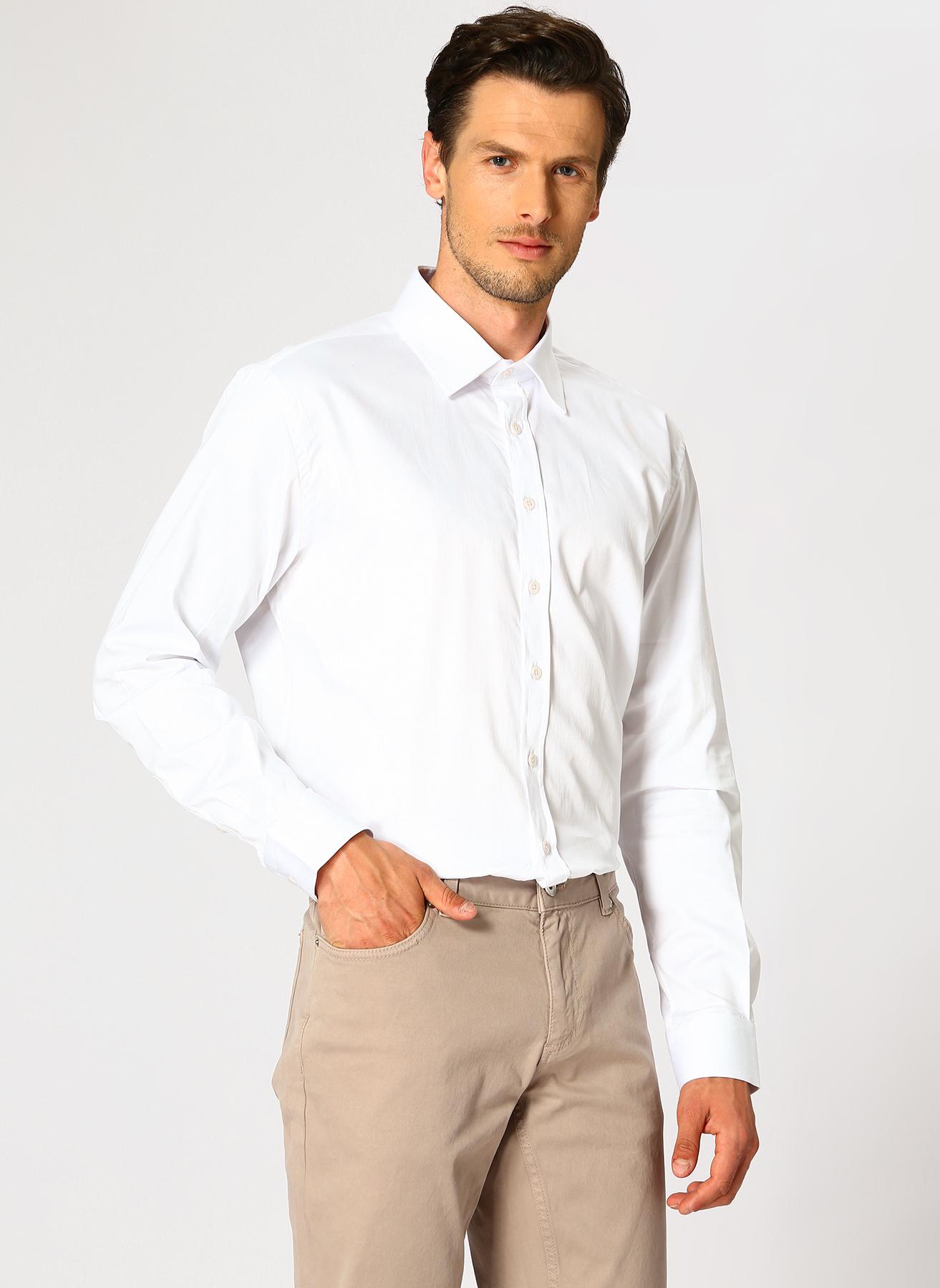 George Hogg Beyaz Gömlek 40 5001699349002 Ürün Resmi