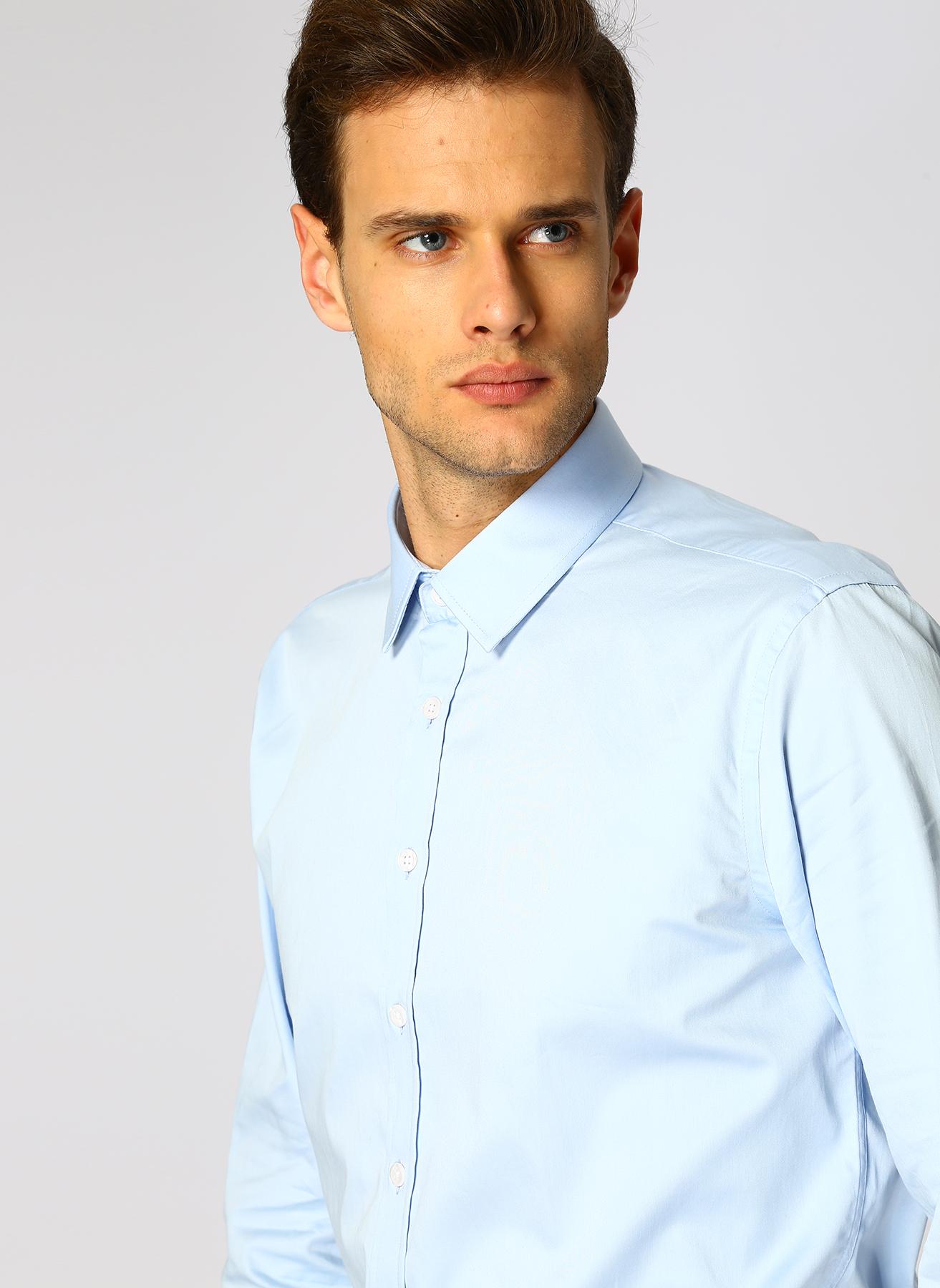George Hogg Açık Mavi Gömlek 39 5001699352001 Ürün Resmi